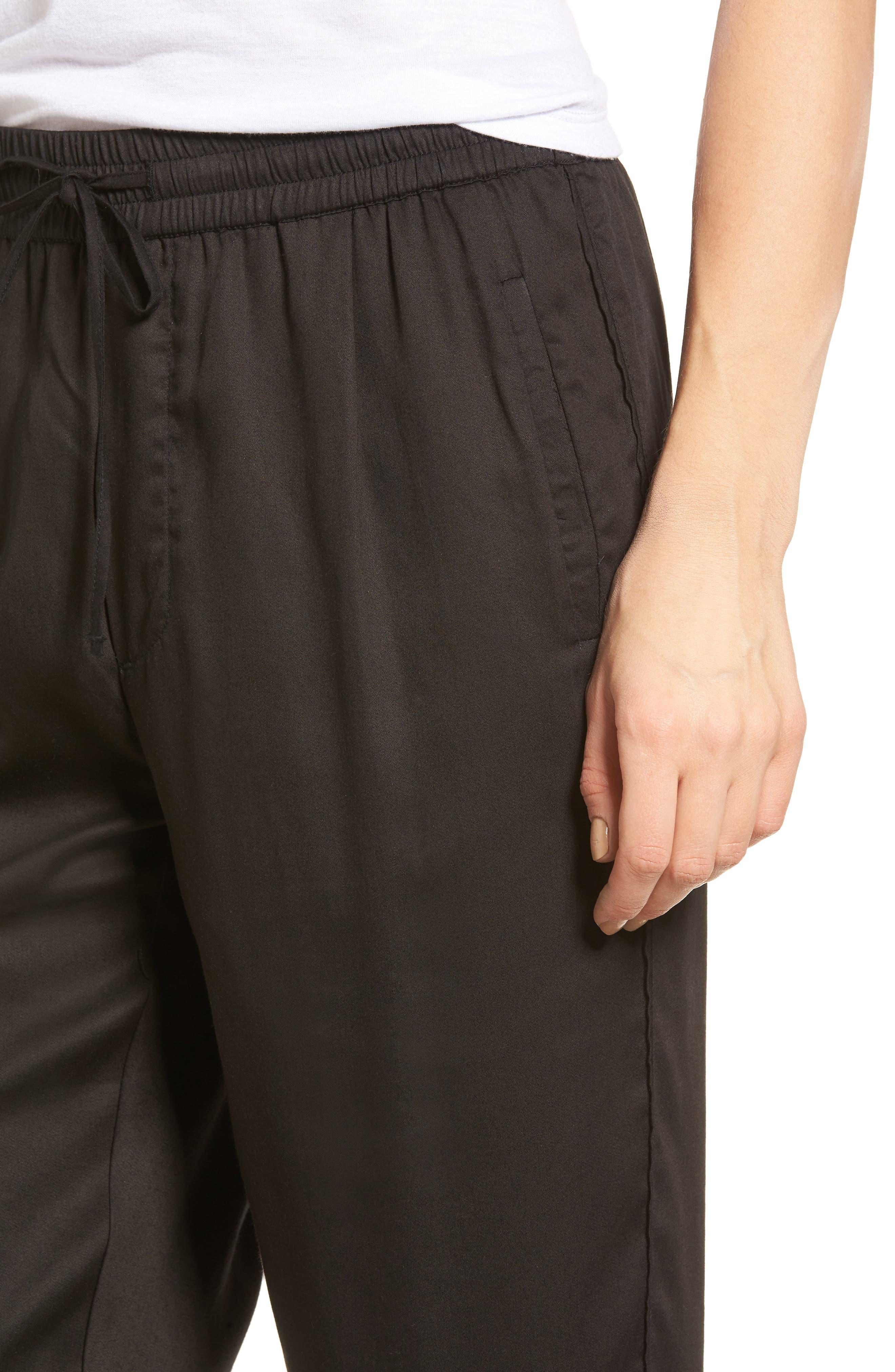 Alternate Image 4  - Obey Savoy Satin Pants
