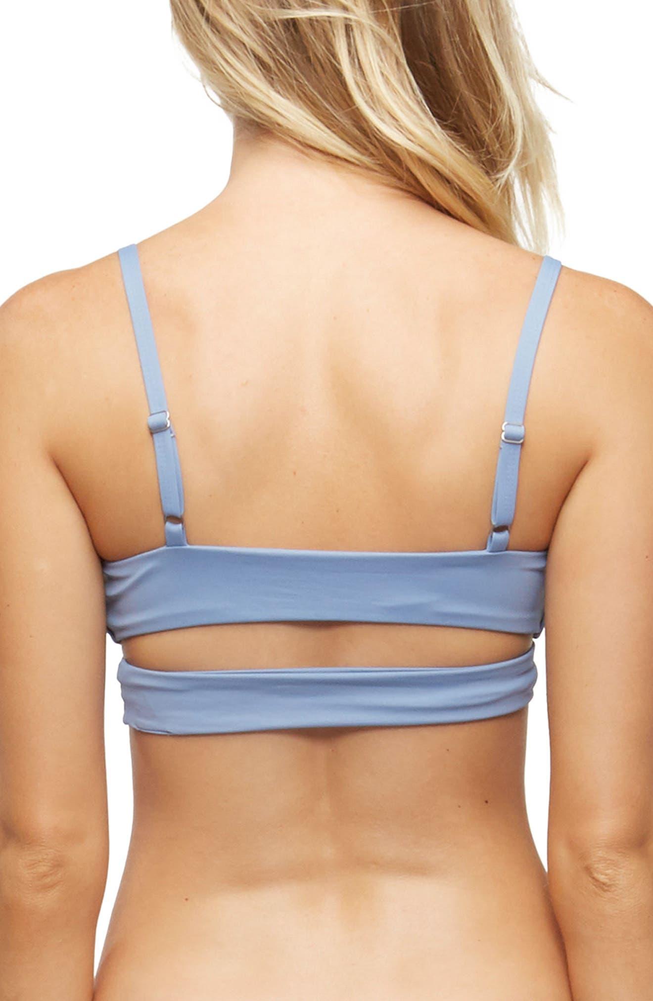 Alternate Image 2  - TAVIK 'Jessi' Cutout Triangle Bikini Top