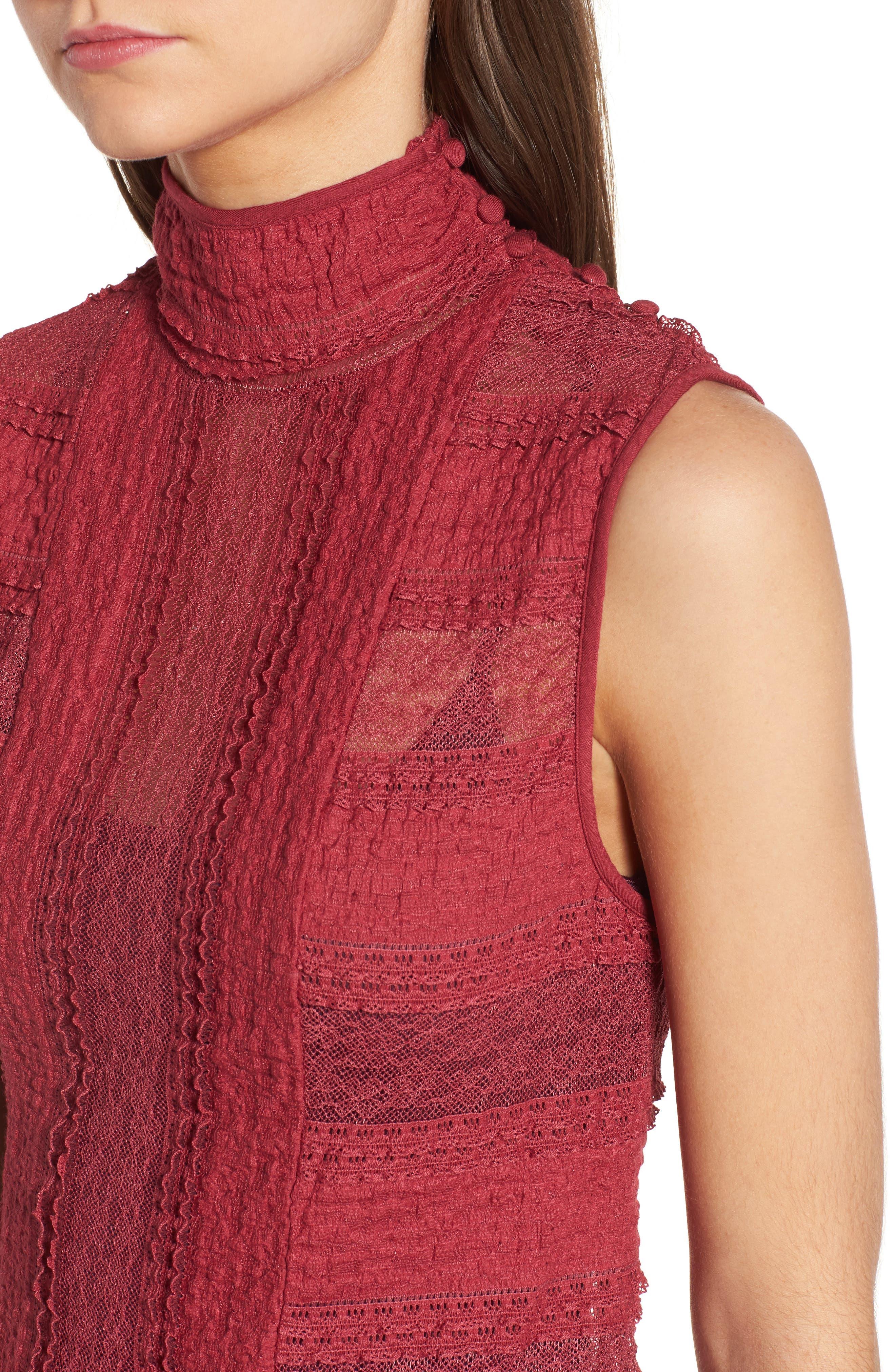 Alternate Image 4  - Ella Moss Violette Turtleneck Sweater