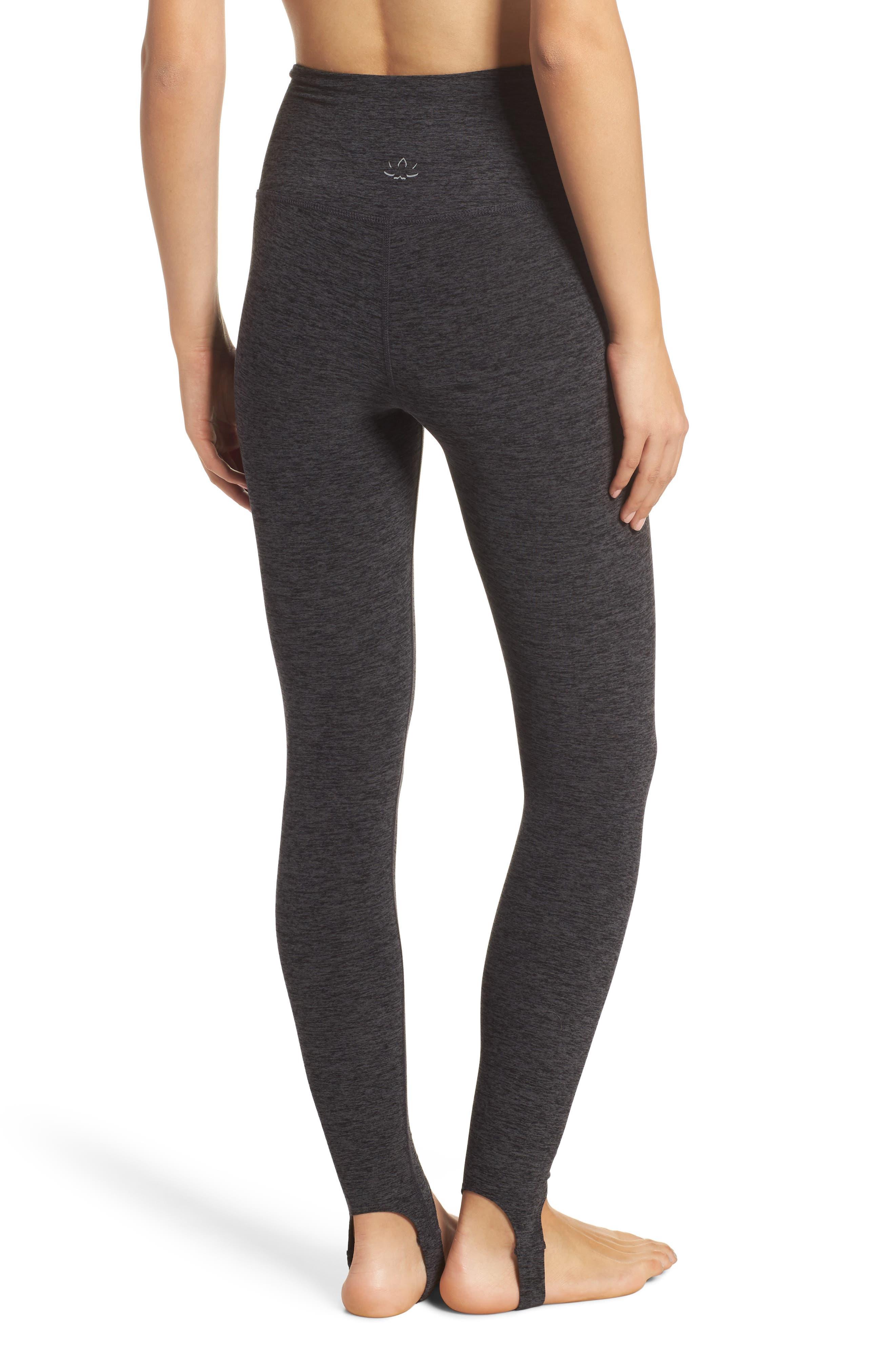 Alternate Image 2  - Beyond Yoga High Waist Stirrup Leggings