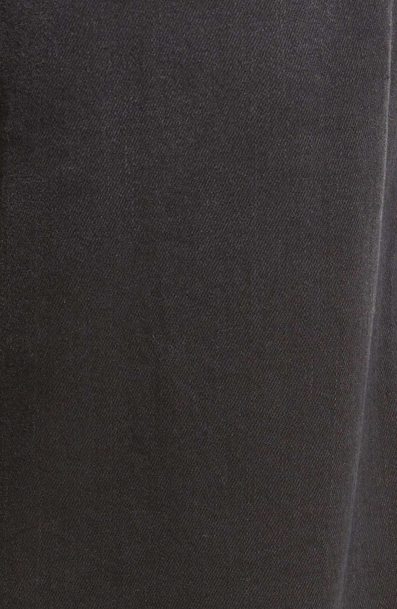 Alternate Image 5  - Mavi Jeans Myles Straight Fit Jeans (Smoke Chelsea)