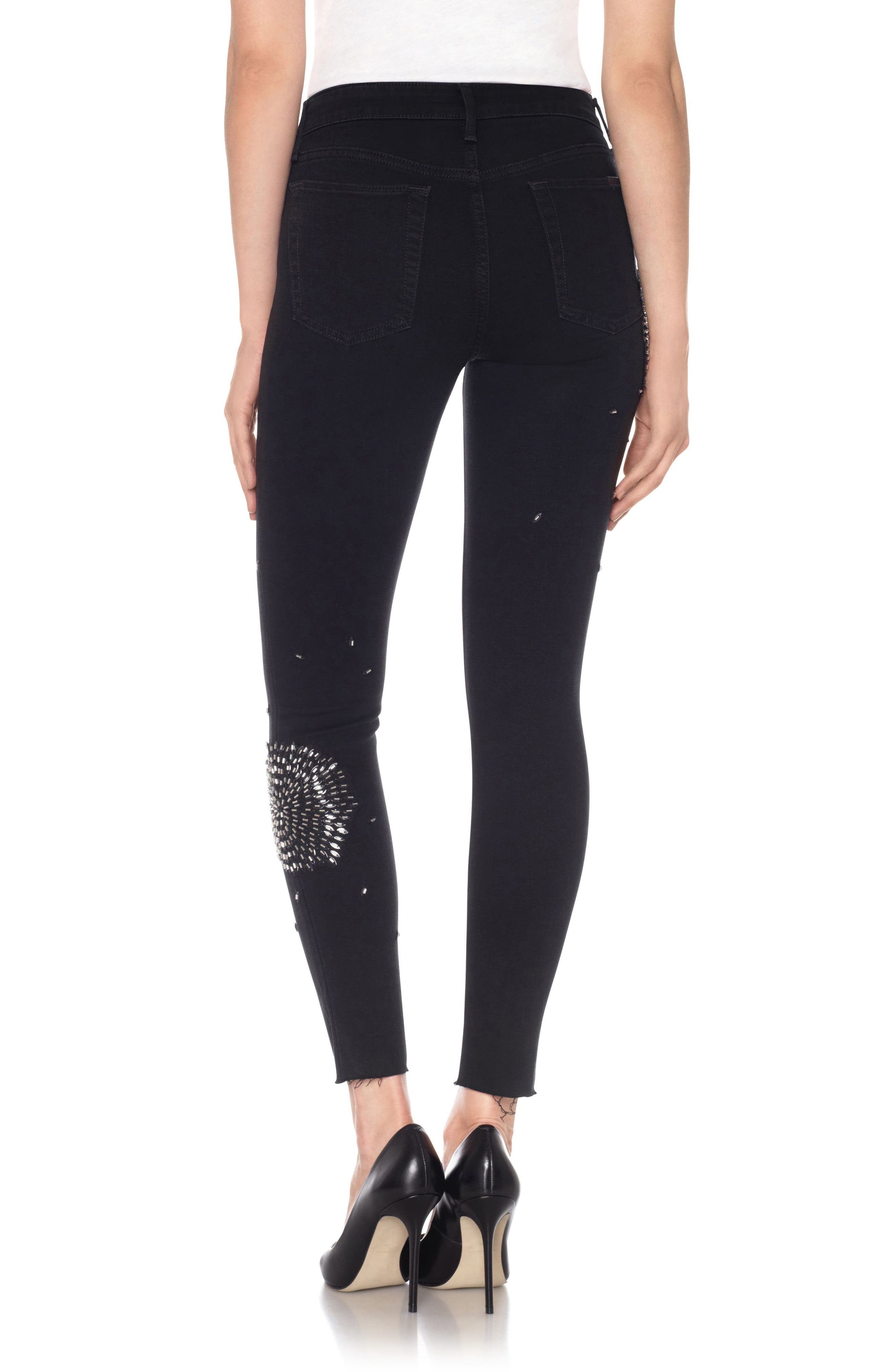 Flawless - Charlie High Waist Ankle Skinny Jeans,                             Alternate thumbnail 2, color,                             Dorinda