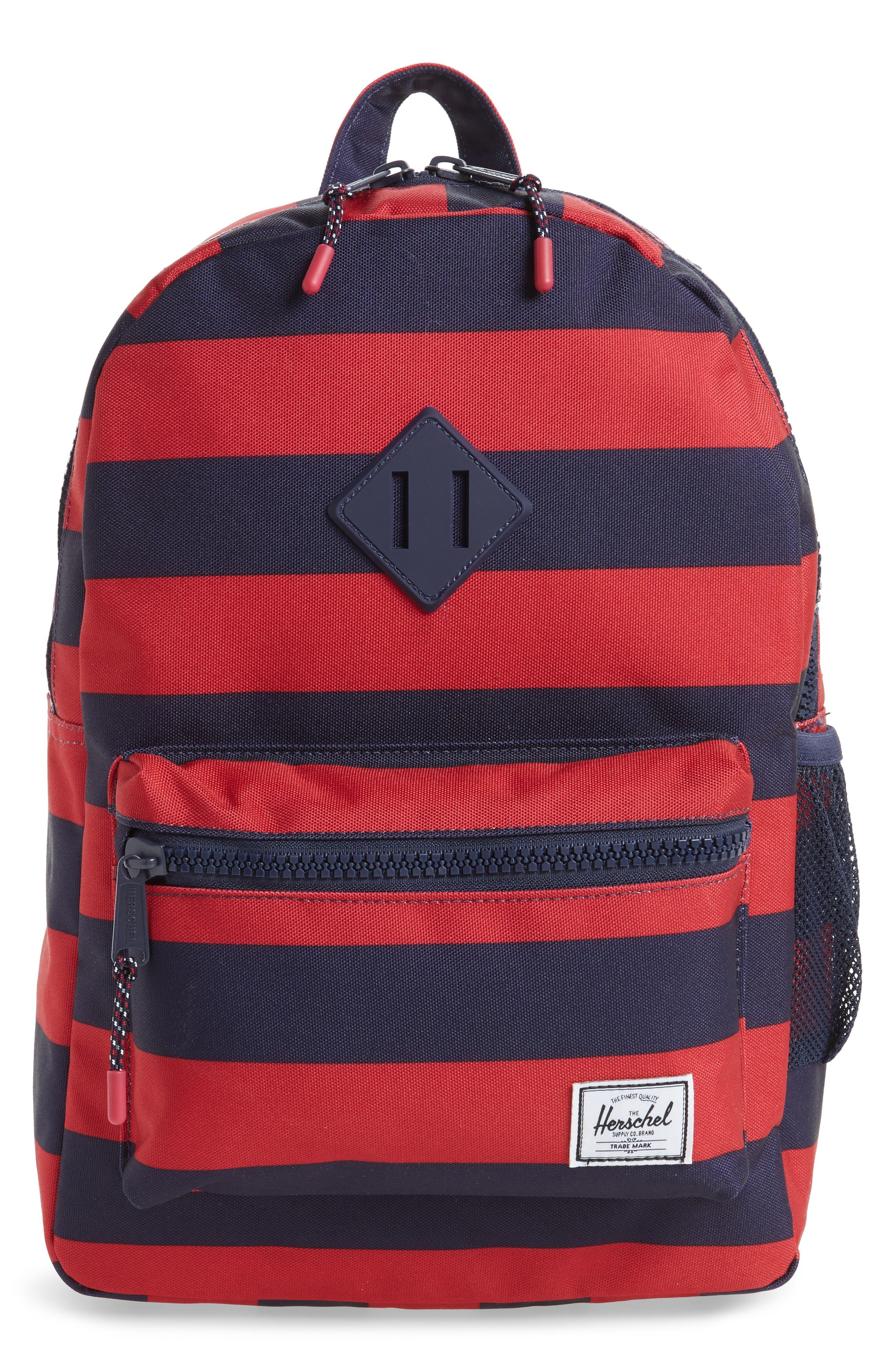 Alternate Image 1 Selected - Herschel Supply Co. Heritage Stripe Backpack (Kids)