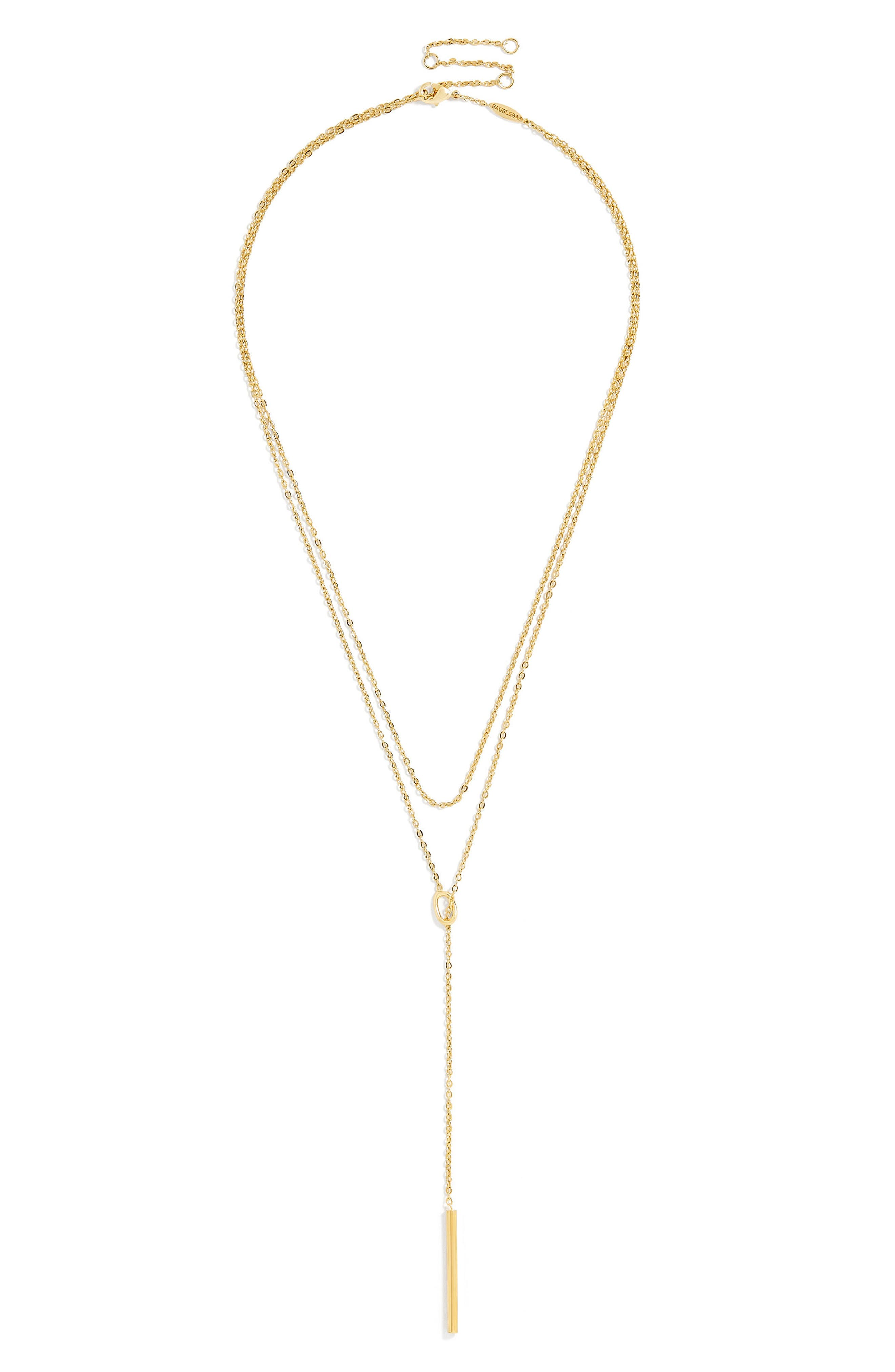 Isabella Everyday Fine Layered Necklace,                         Main,                         color, Gold