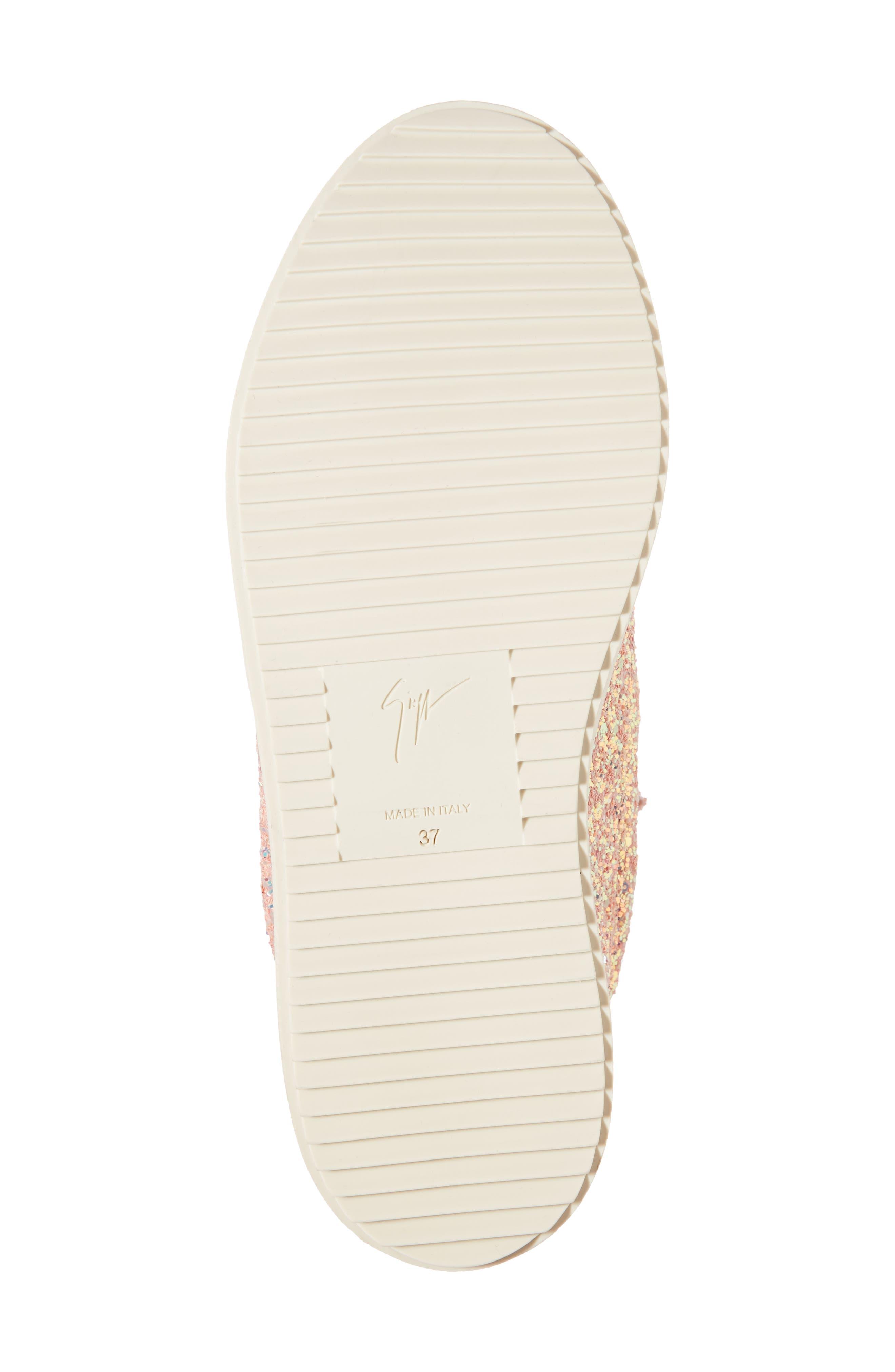 Alternate Image 6  - Giuseppe Zanotti May London Low Top Sneaker (Women)