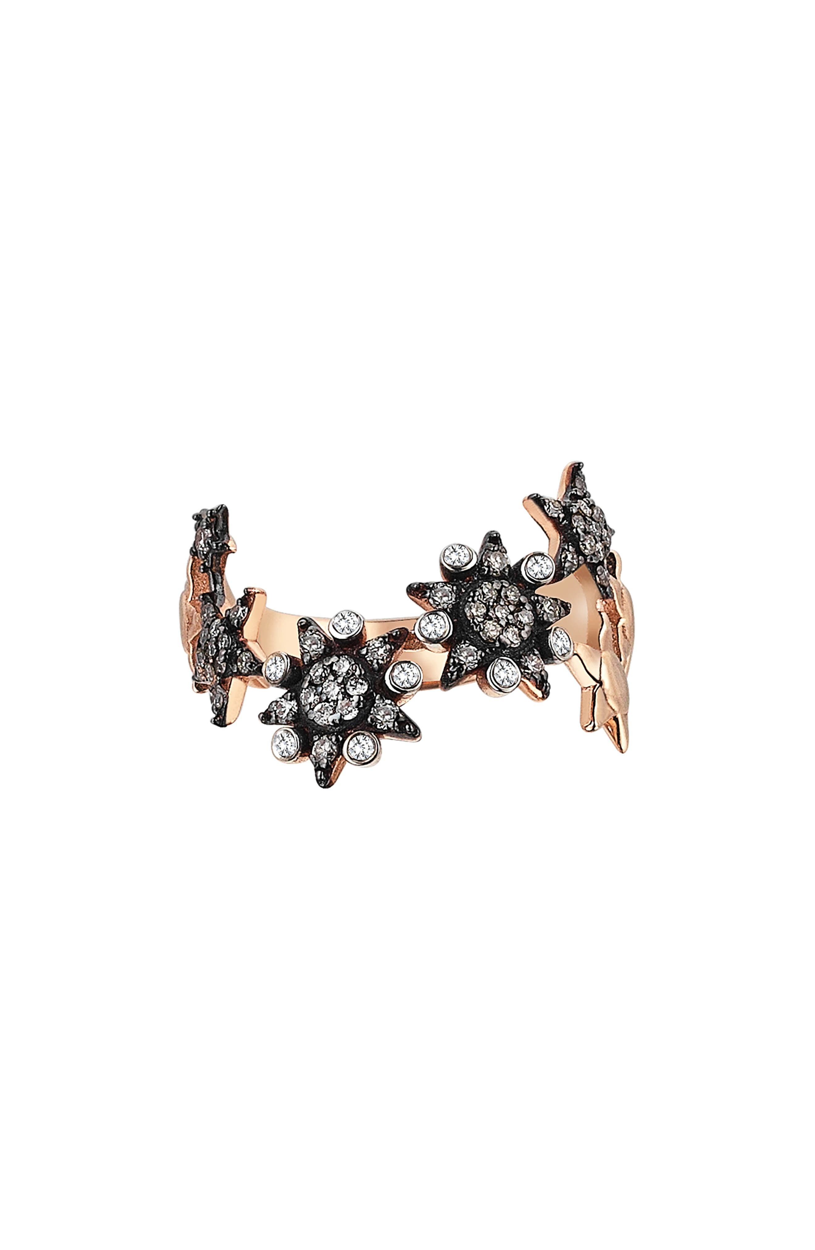 Kismet by Milka Eclectic Star Diamond Ring