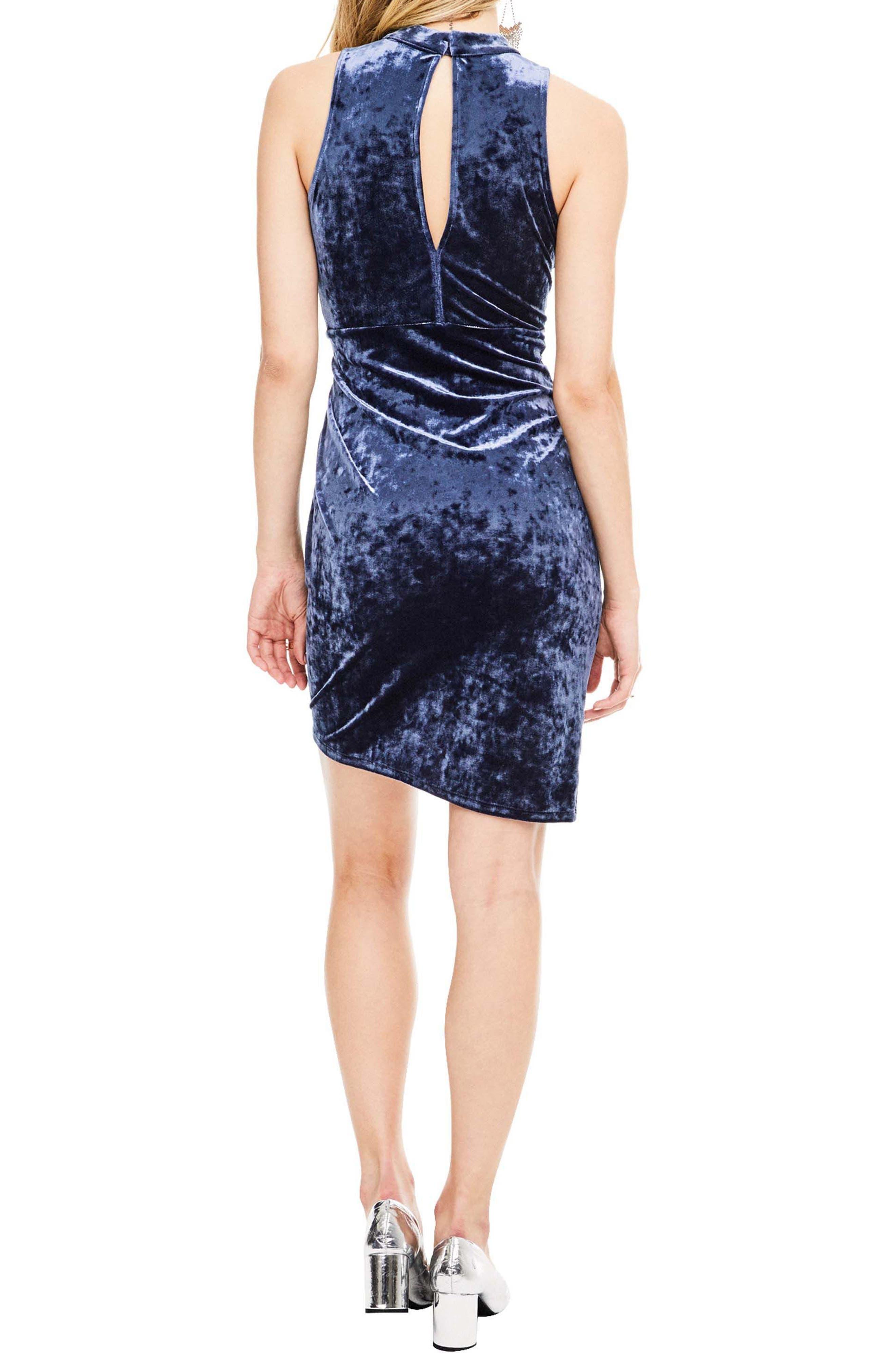 Avalon Body-Con Dress,                             Alternate thumbnail 3, color,                             Sapphire