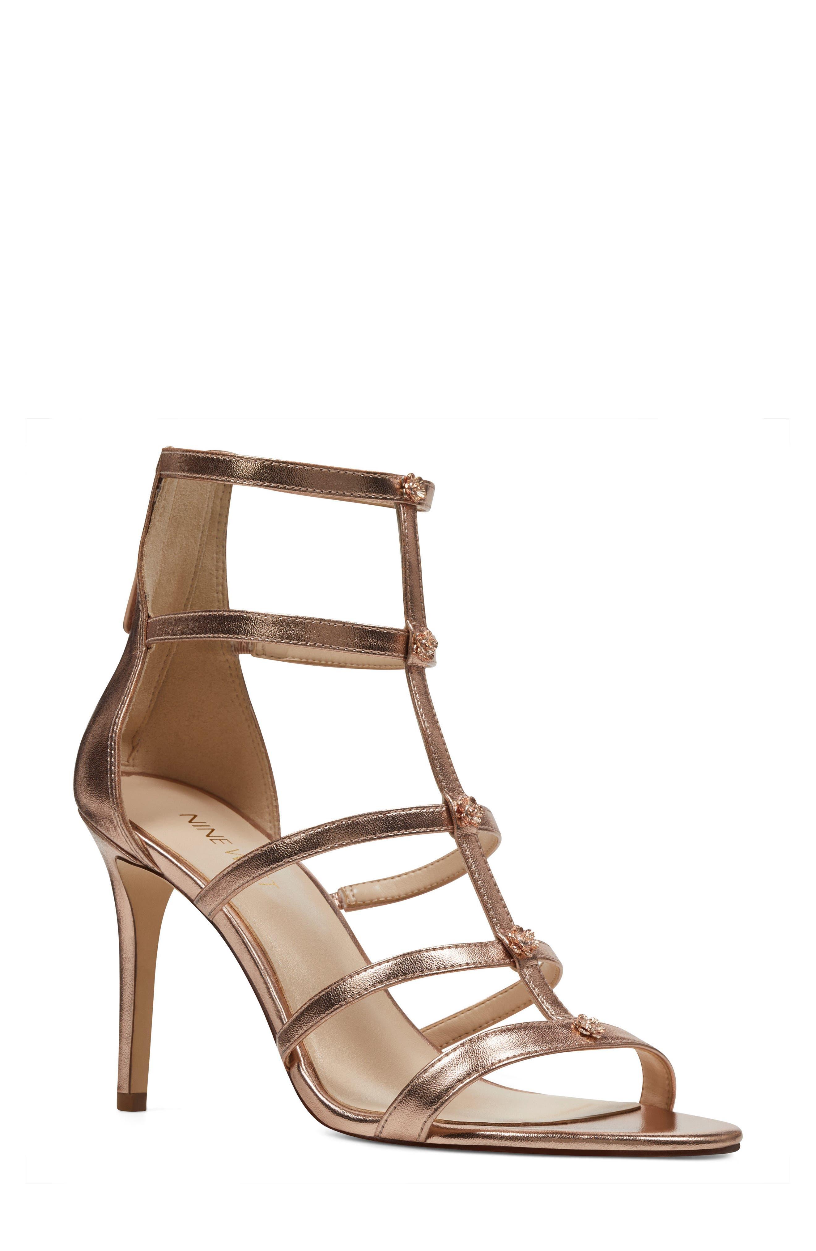 Alternate Image 1 Selected - Nine West Nayler Strappy Sandal (Women)