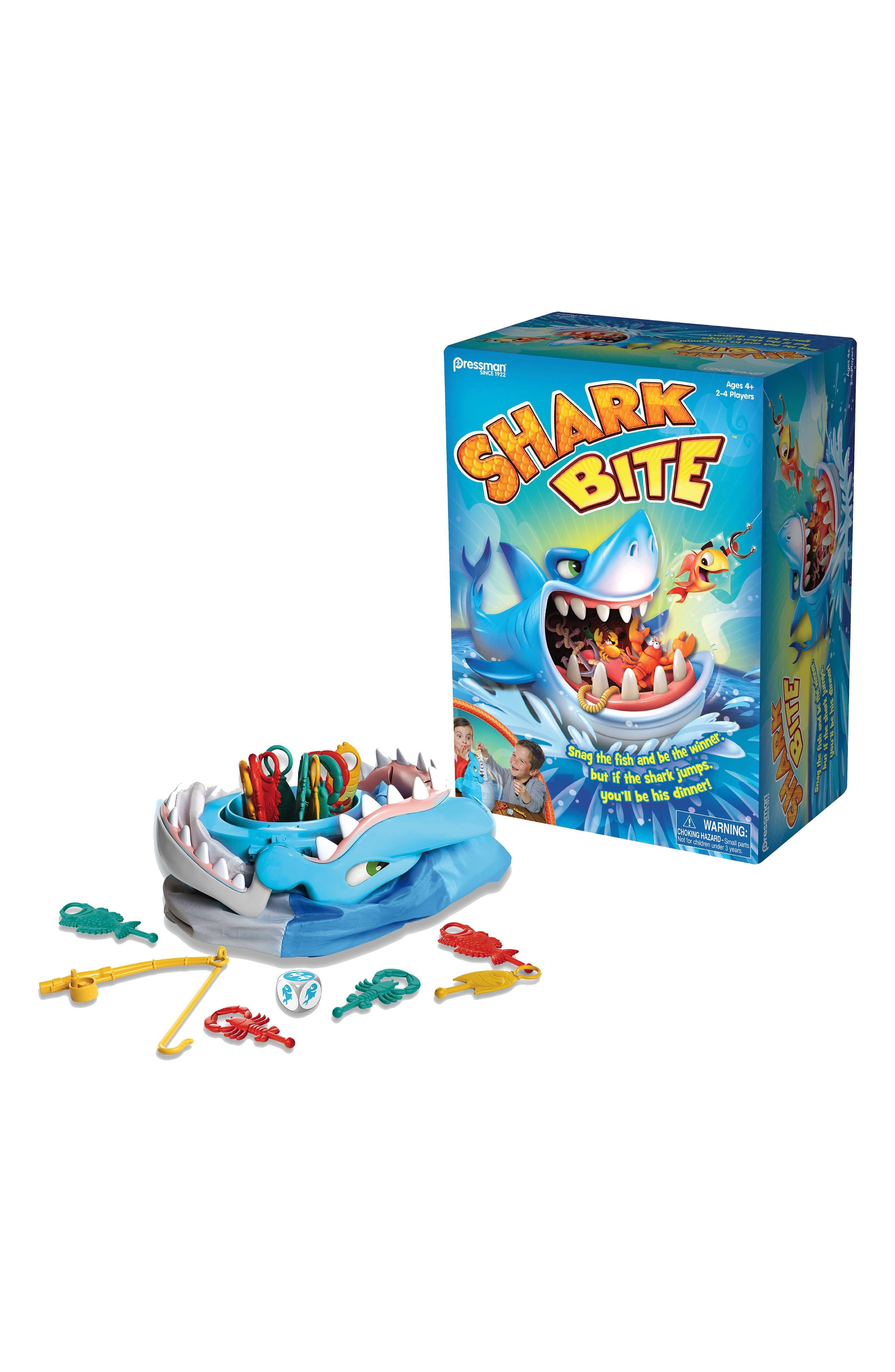 Shark Bite Game,                         Main,                         color, Blue