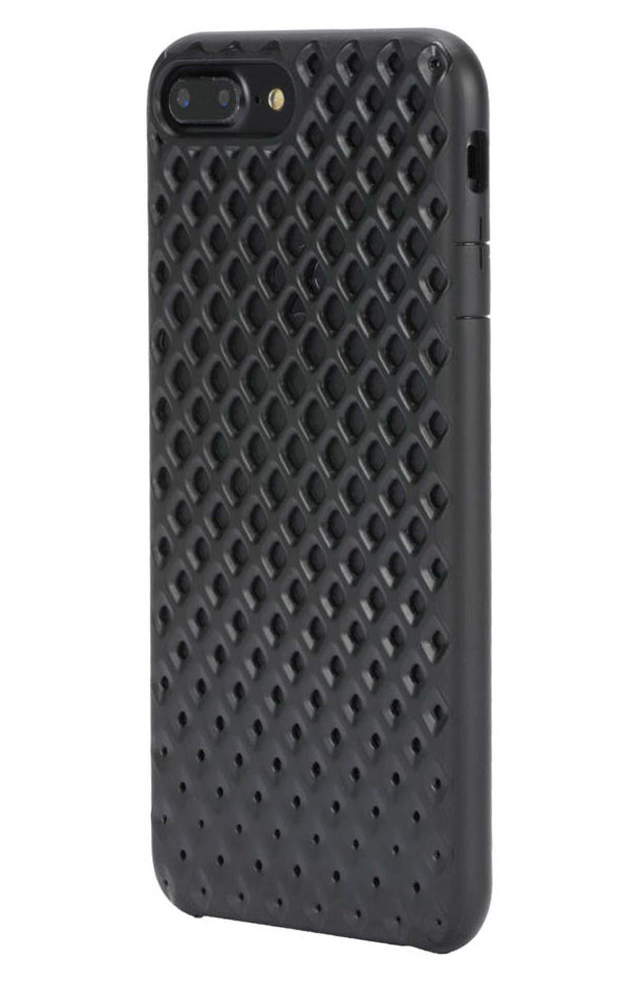 Lite iPhone 7 Plus & 8 Plus Case,                             Alternate thumbnail 3, color,                             Black