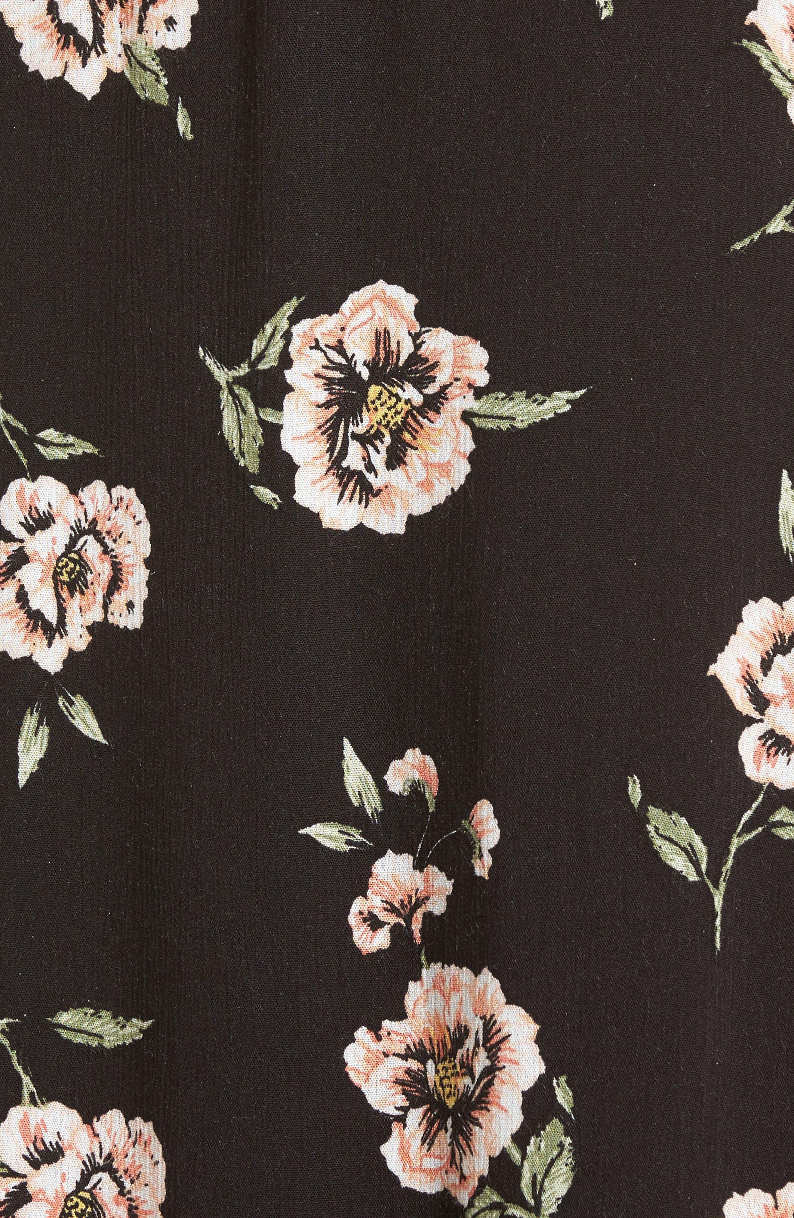 Alternate Image 5  - Dee Elly Floral Slipdress