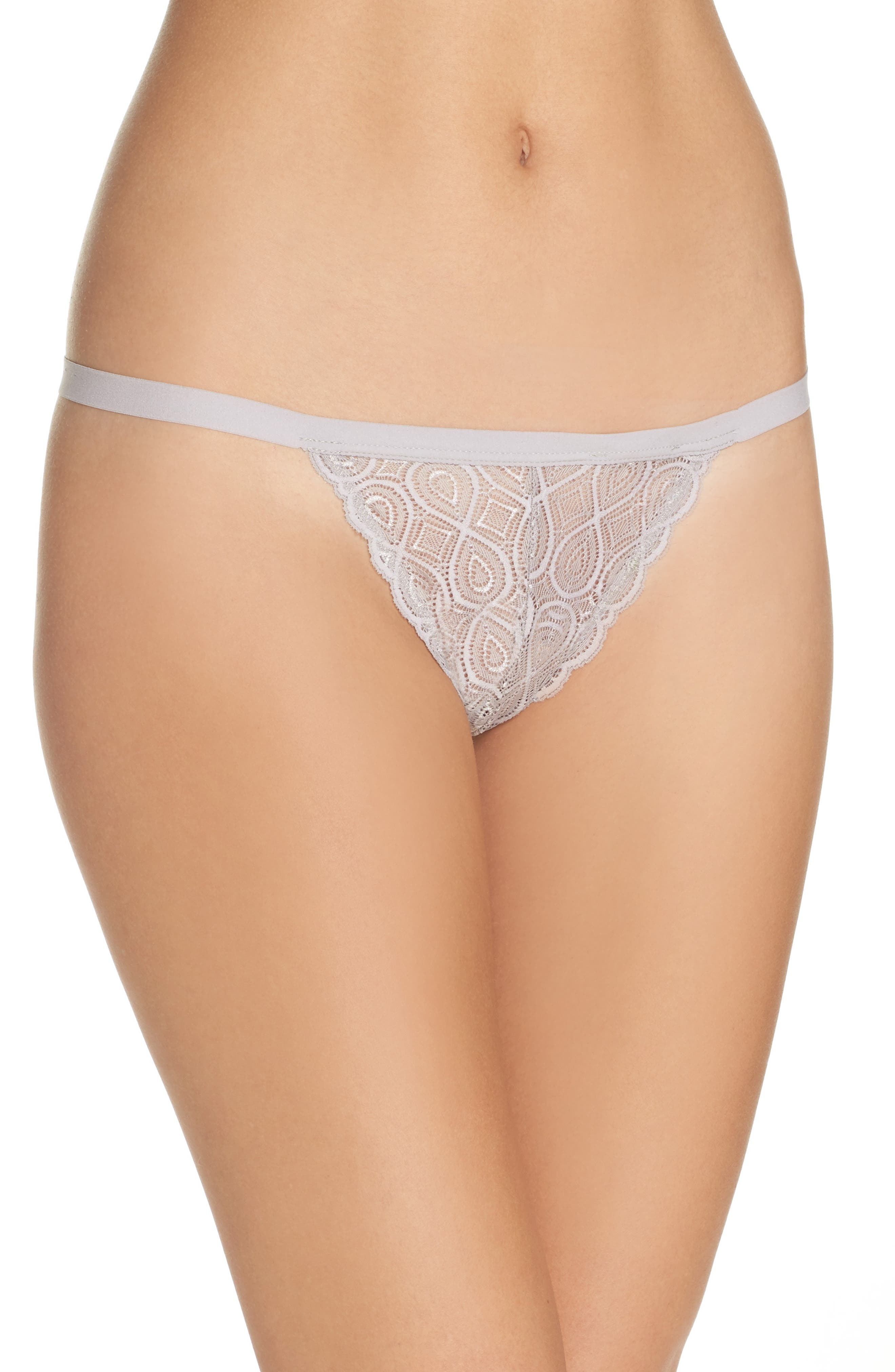 Treats Infinity G-String Thong,                         Main,                         color, Stone