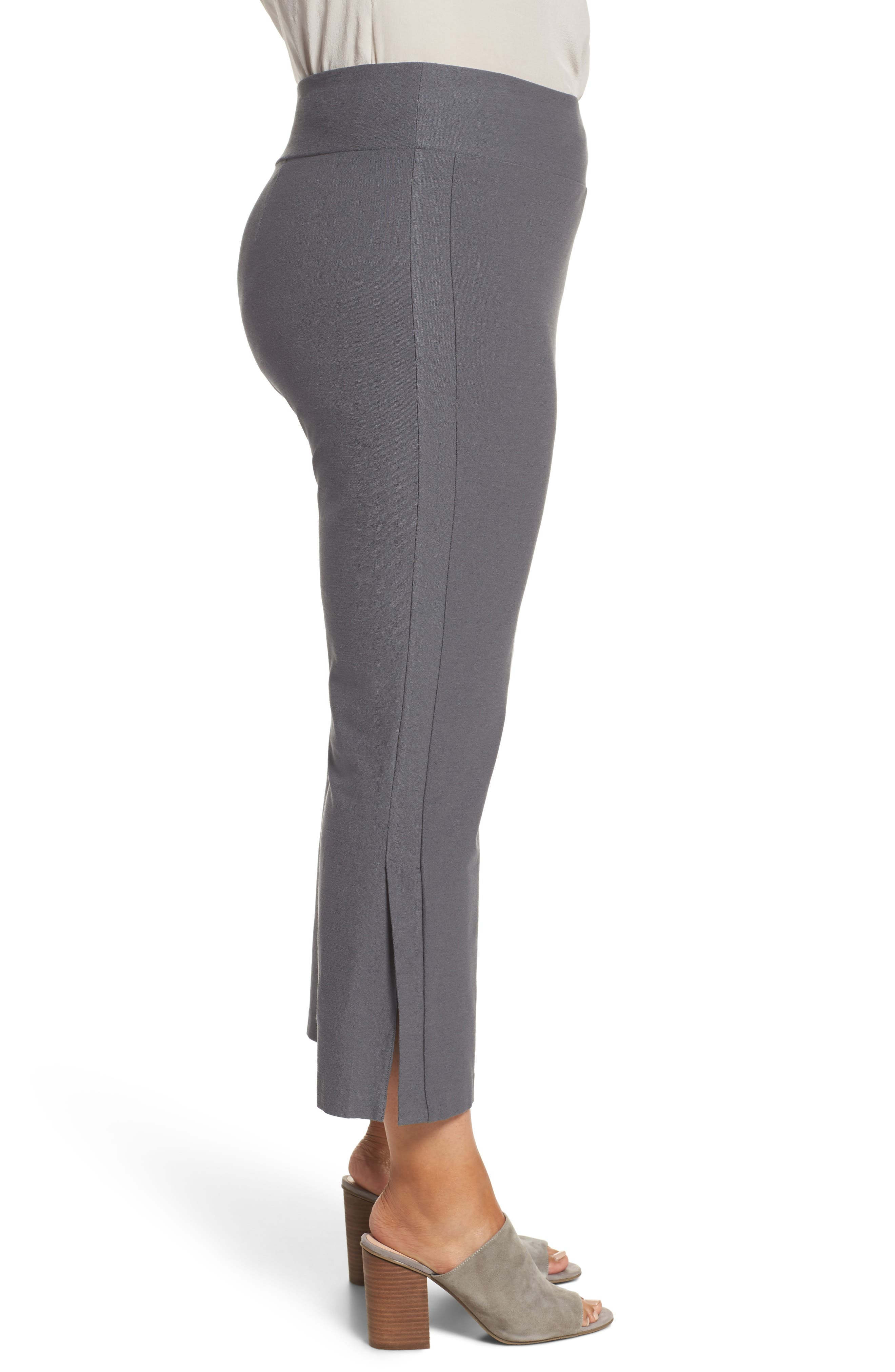 Alternate Image 3  - Eileen Fisher Stretch Bootcut Pants (Plus Size)
