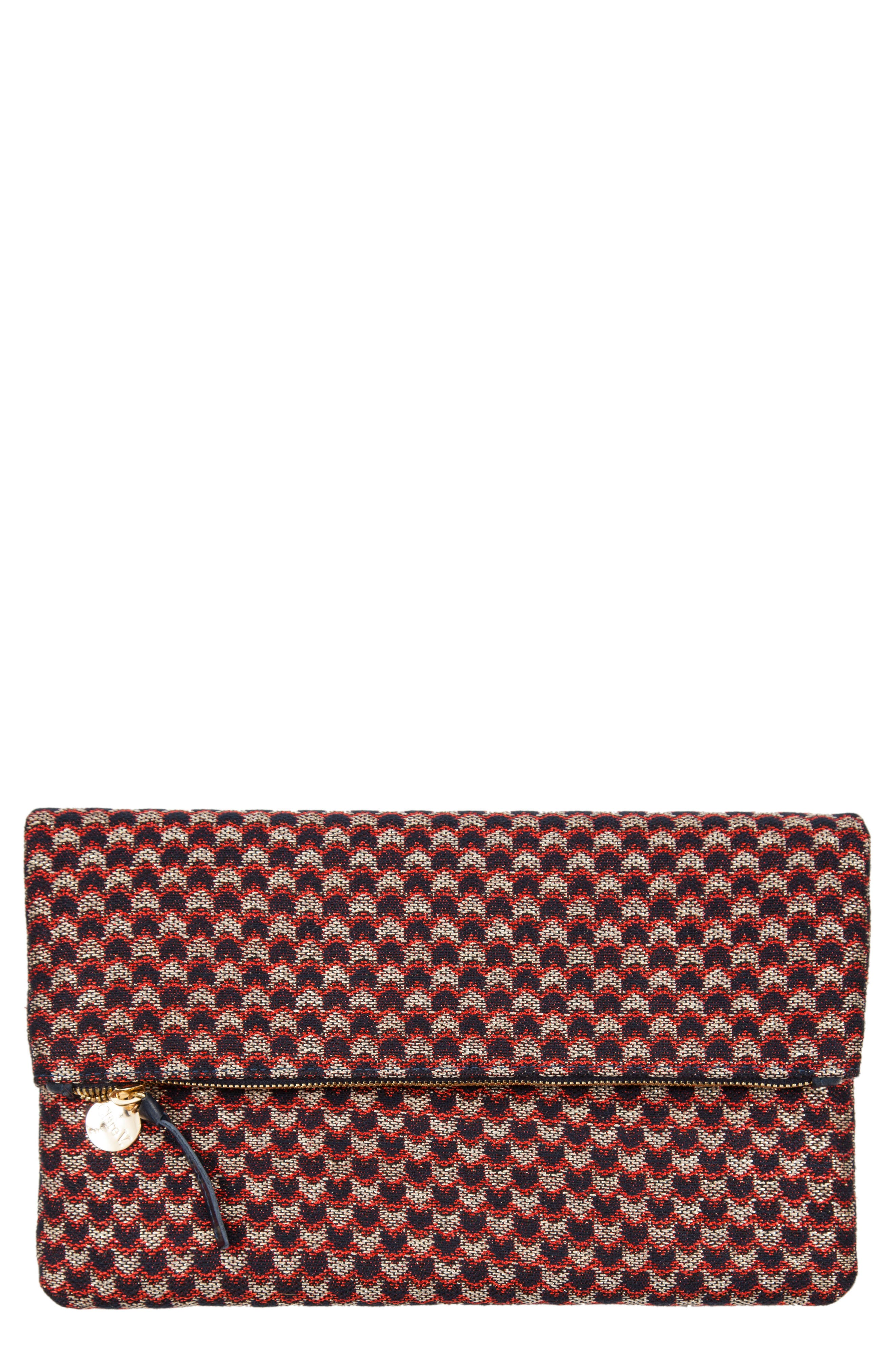 Marquis Foldover Clutch,                             Main thumbnail 1, color,                             Marquis
