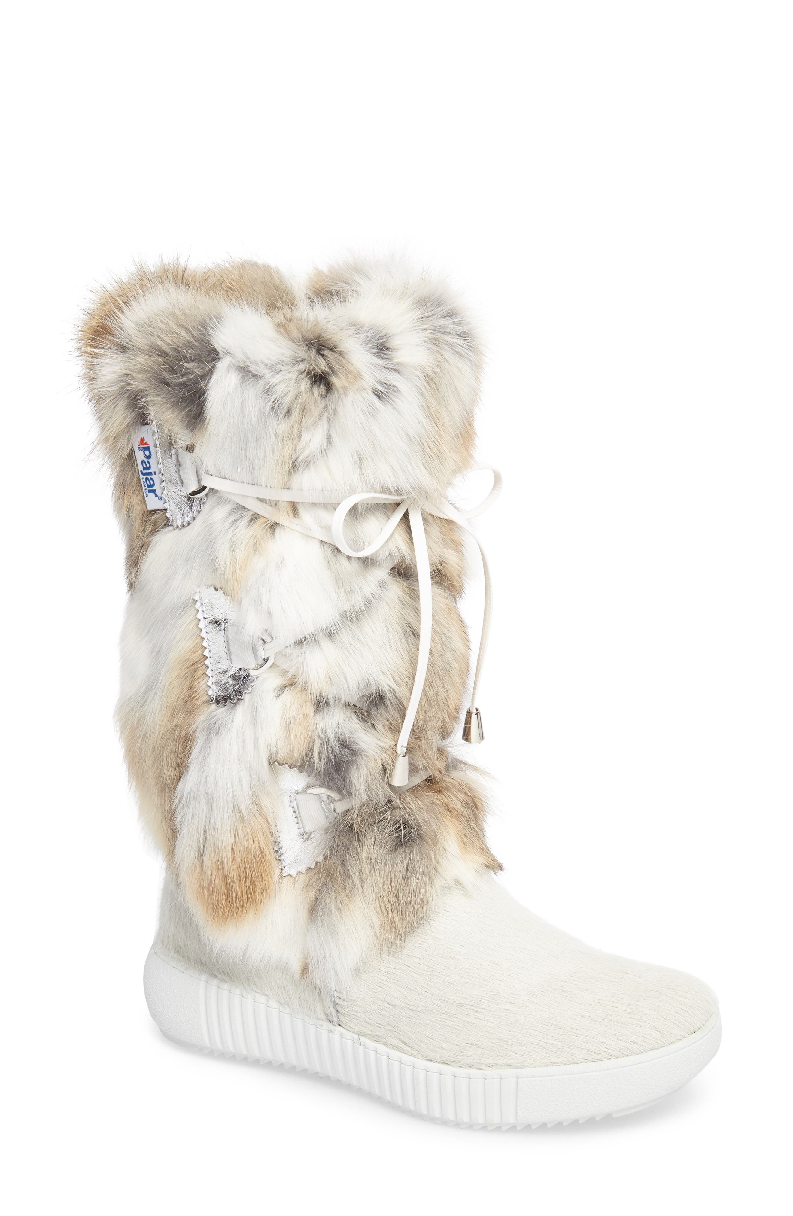 Pajar Juliana Genuine Rabbit Fur Boot (Women)