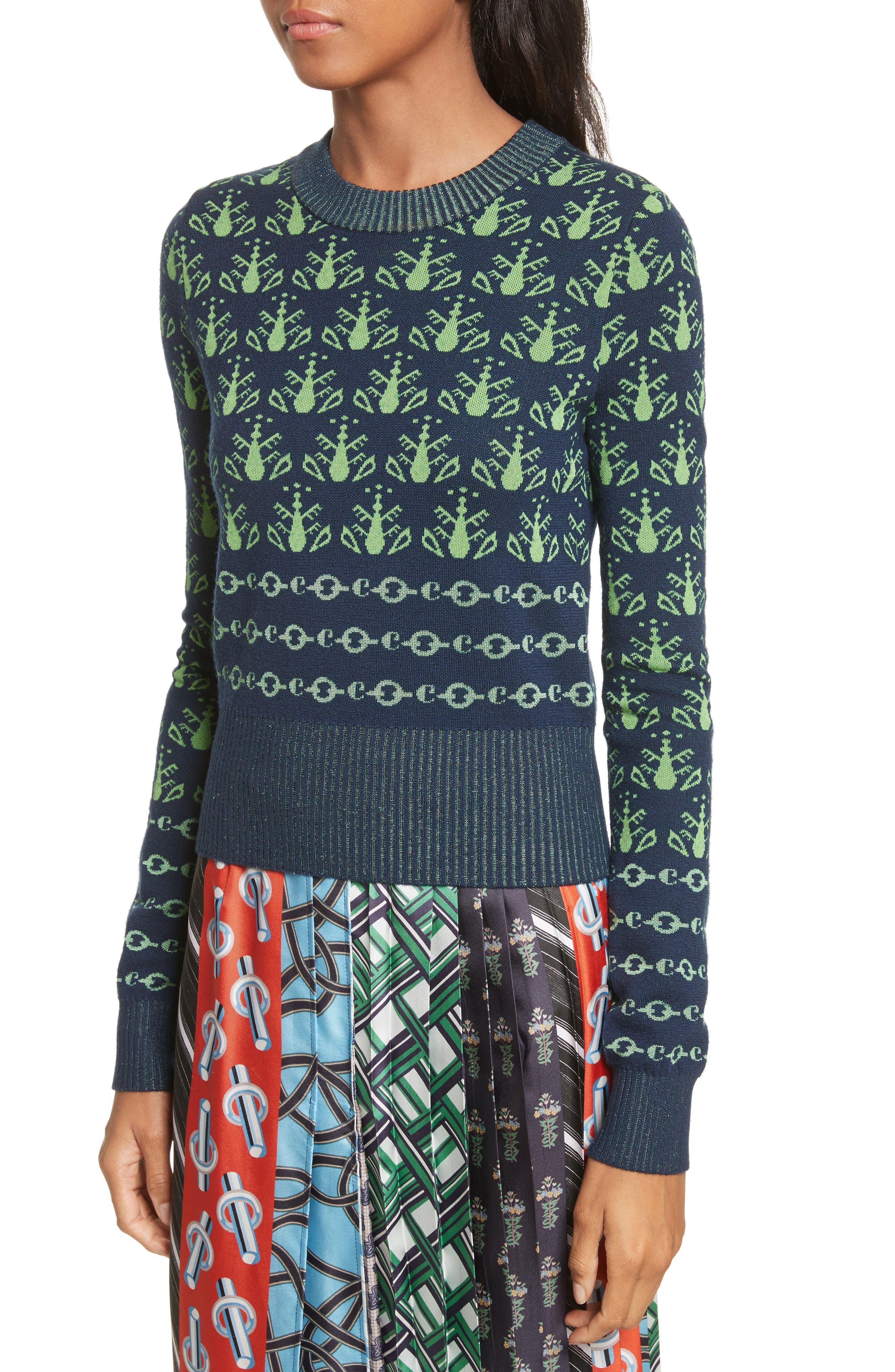 Alternate Image 4  - Carven Merino Wool Sweater