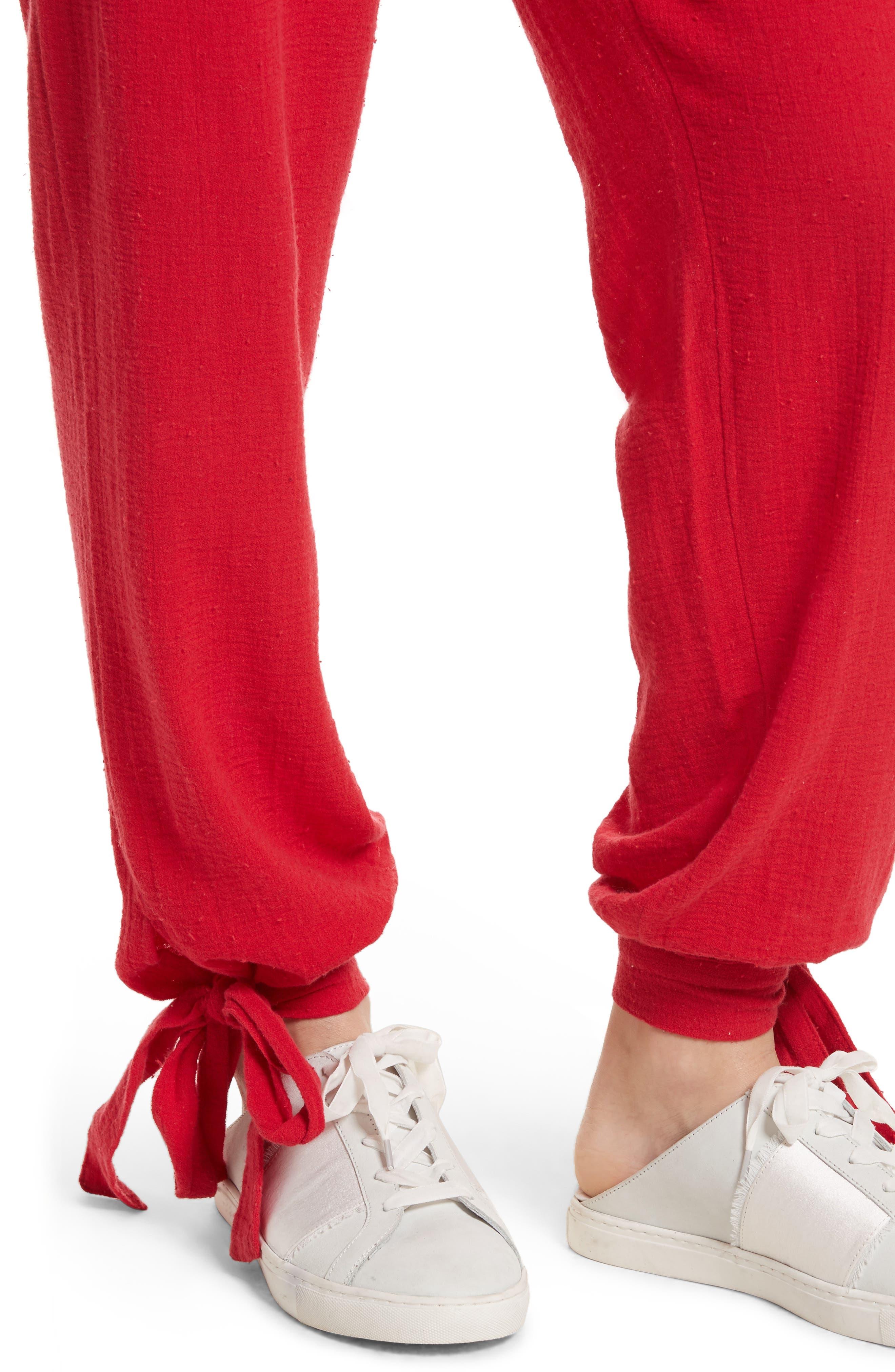 Alternate Image 4  - Free People Karan Strapless Smocked Jumpsuit