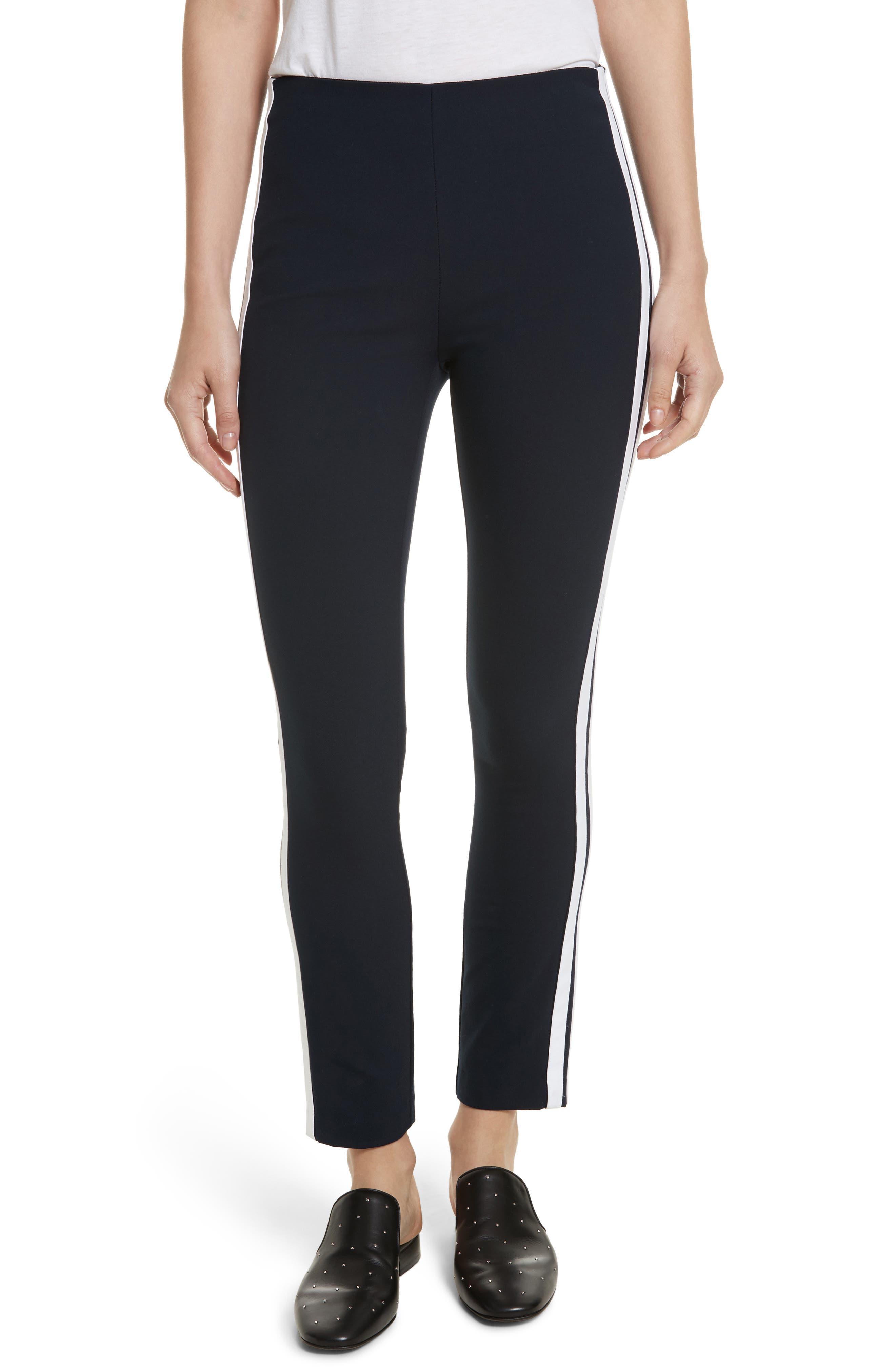 Alternate Image 1 Selected - rag & bone Simone Side Stripe Slim Ankle Pants