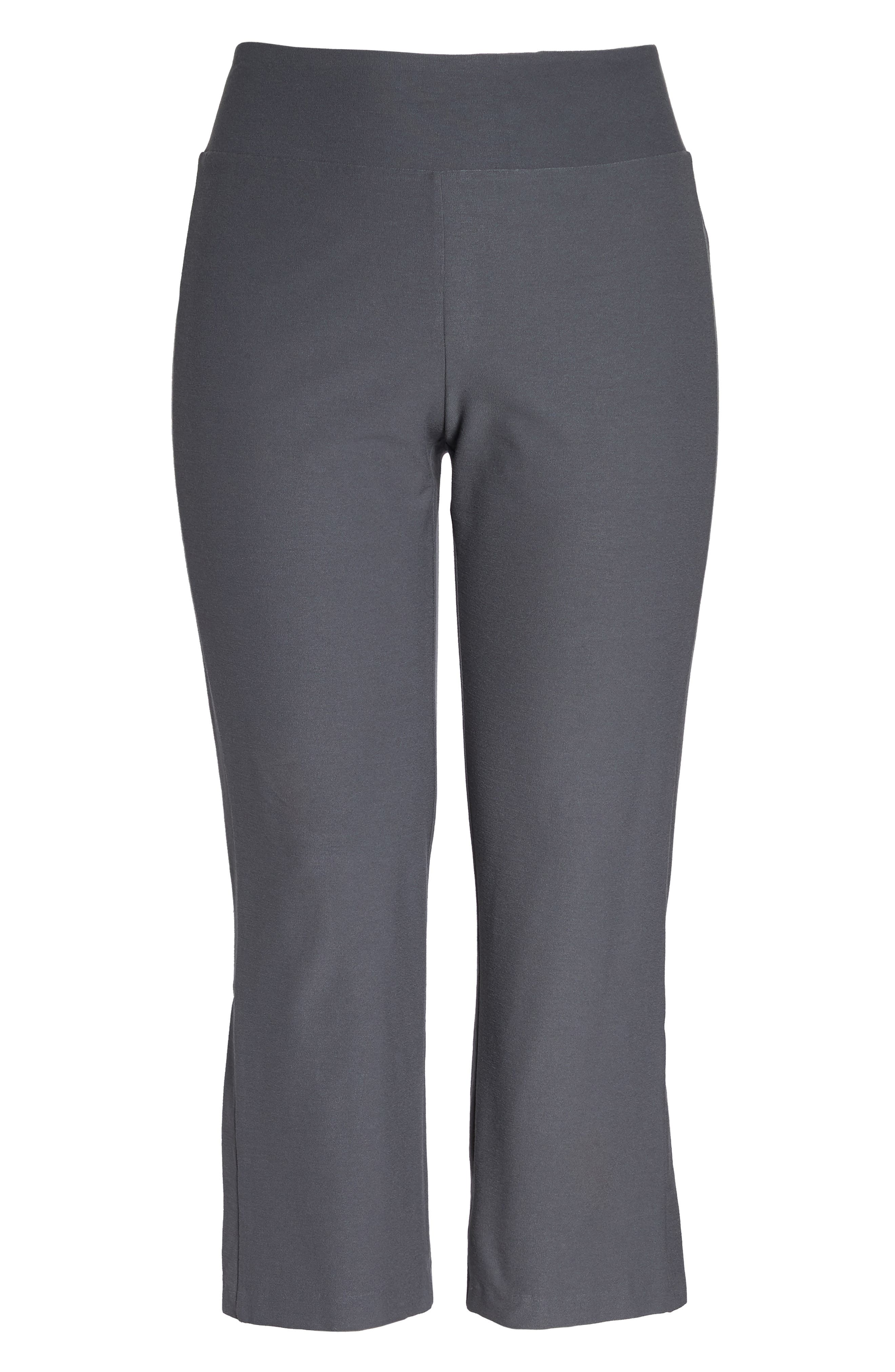 Alternate Image 4  - Eileen Fisher Stretch Bootcut Pants (Plus Size)