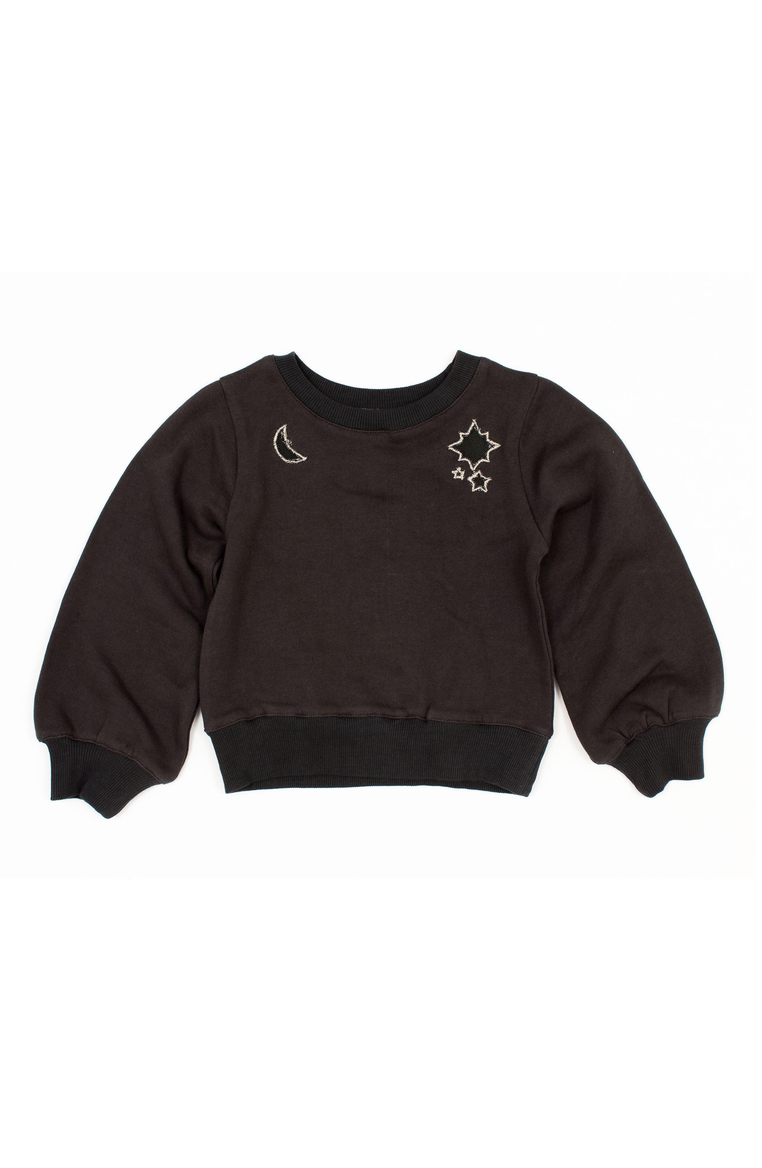 Main Image - BOWIE X JAMES Alchemy Sweatshirt (Toddler Girls, Little Girls & Big Girls)
