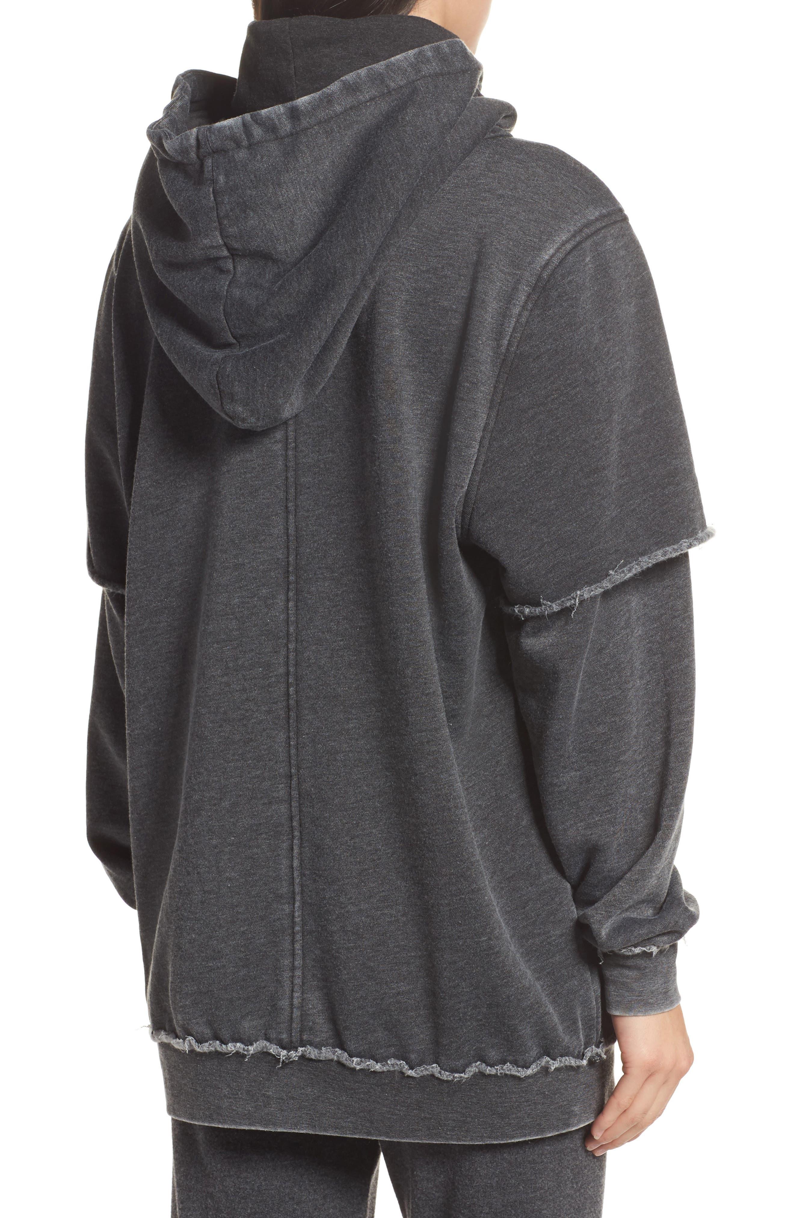 Alternate Image 2  - The Laundry Room Good Hood Sweatshirt Dress