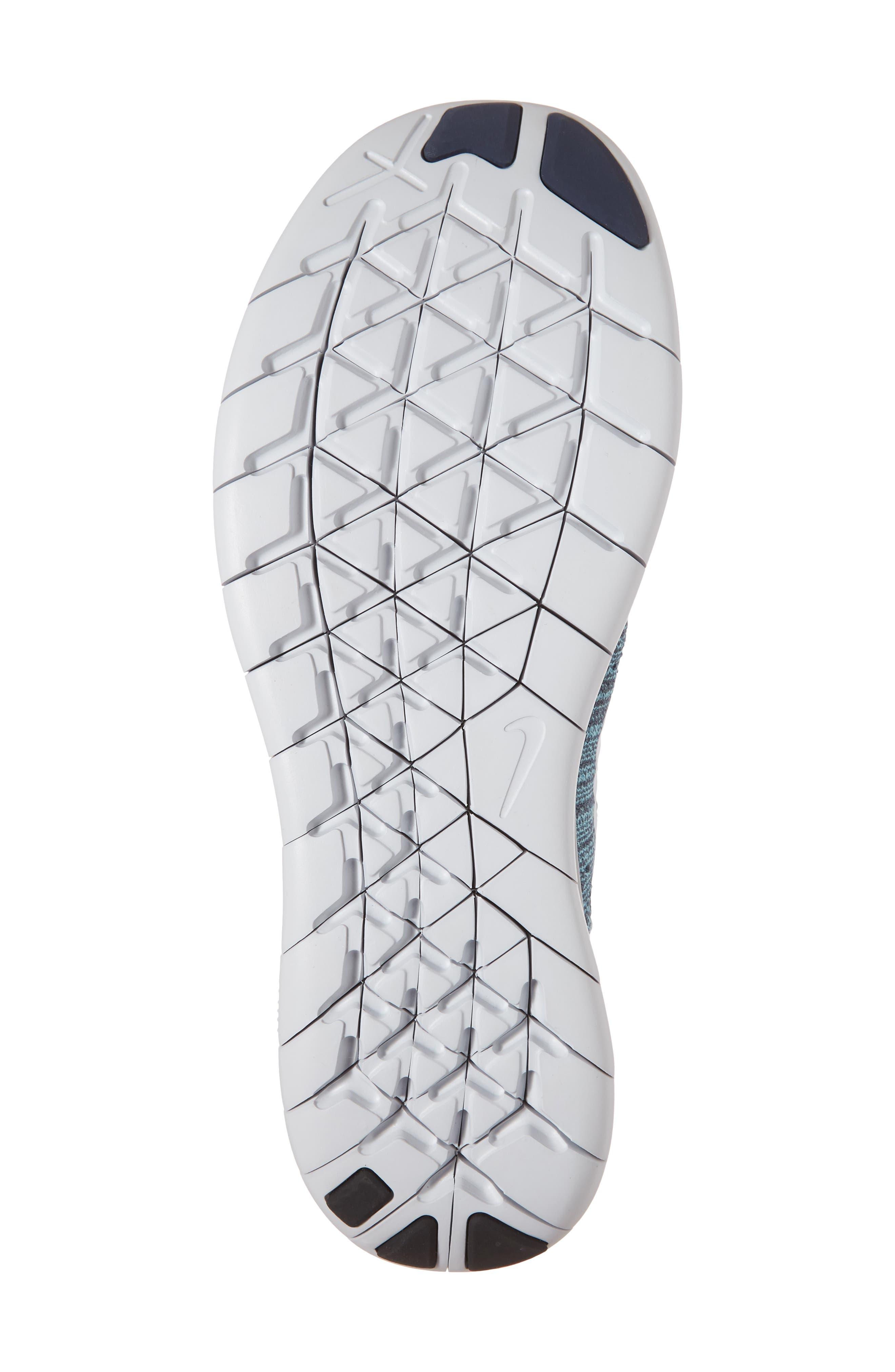 Alternate Image 6  - Nike Free Run Flyknit 2017 Running Shoe (Men)