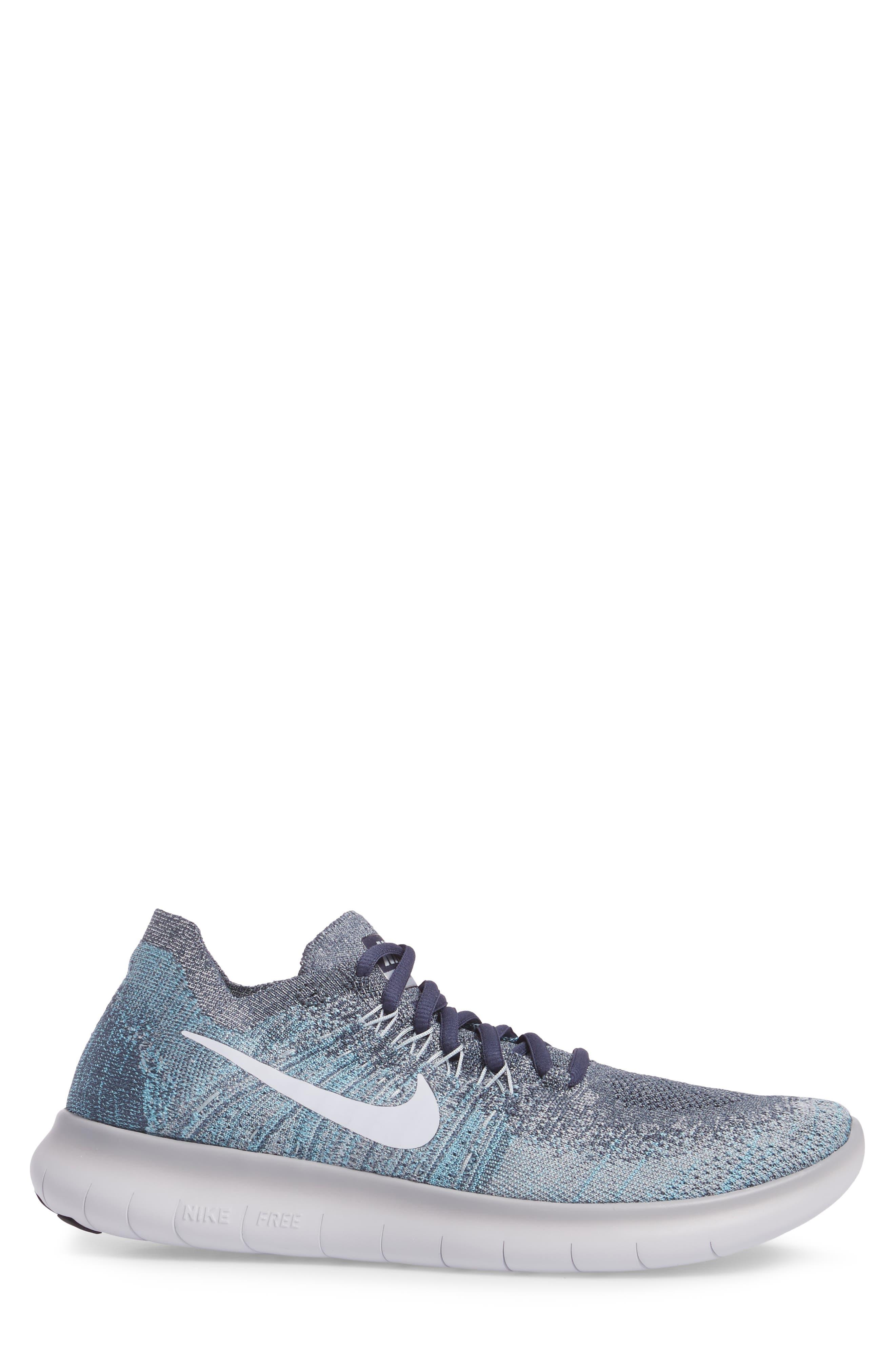 Alternate Image 3  - Nike Free Run Flyknit 2017 Running Shoe (Men)