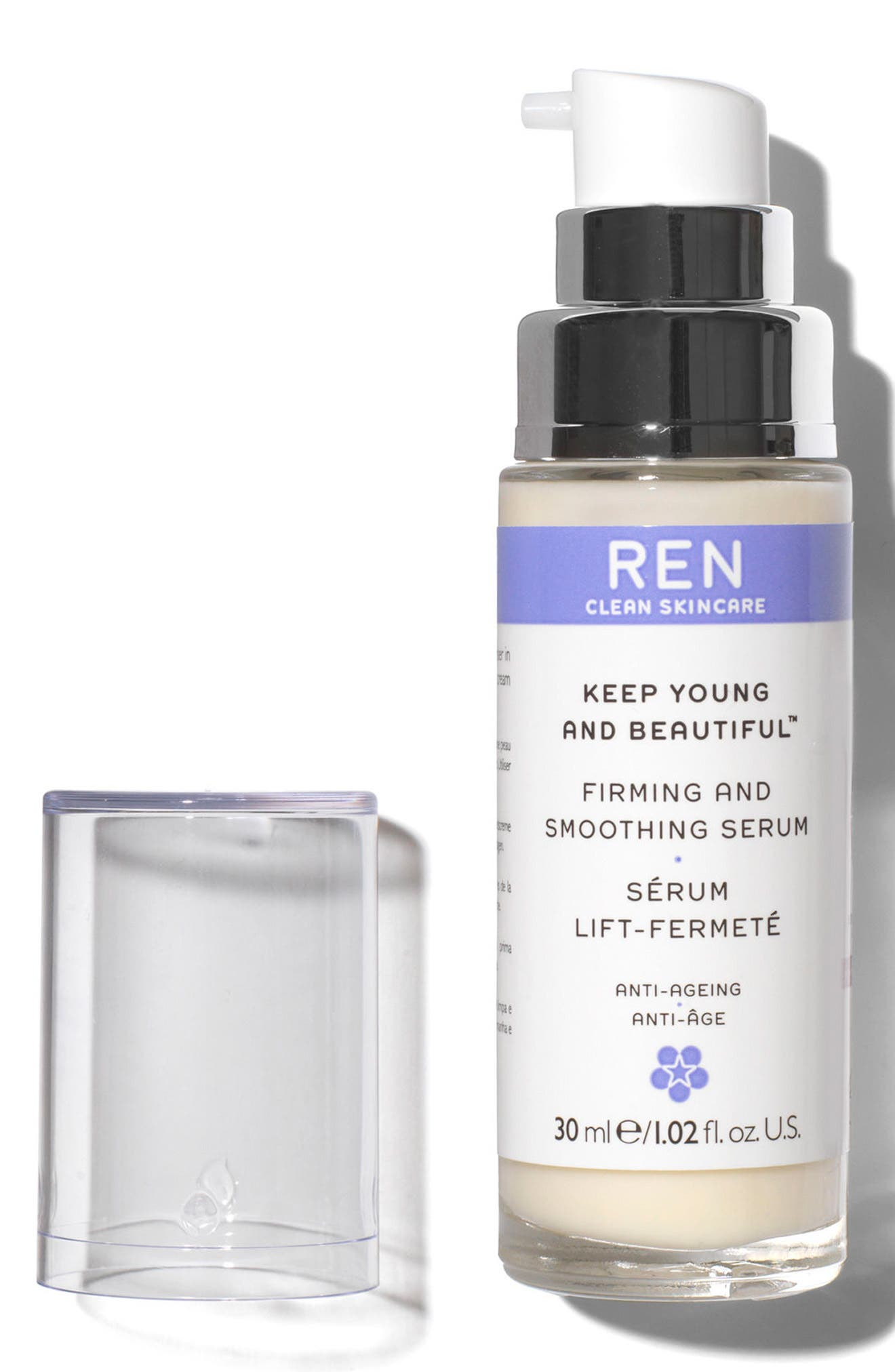SPACE.NK.apothecary REN Keep Young and Beautiful Firming and Smoothing Serum,                             Alternate thumbnail 3, color,                             No Color