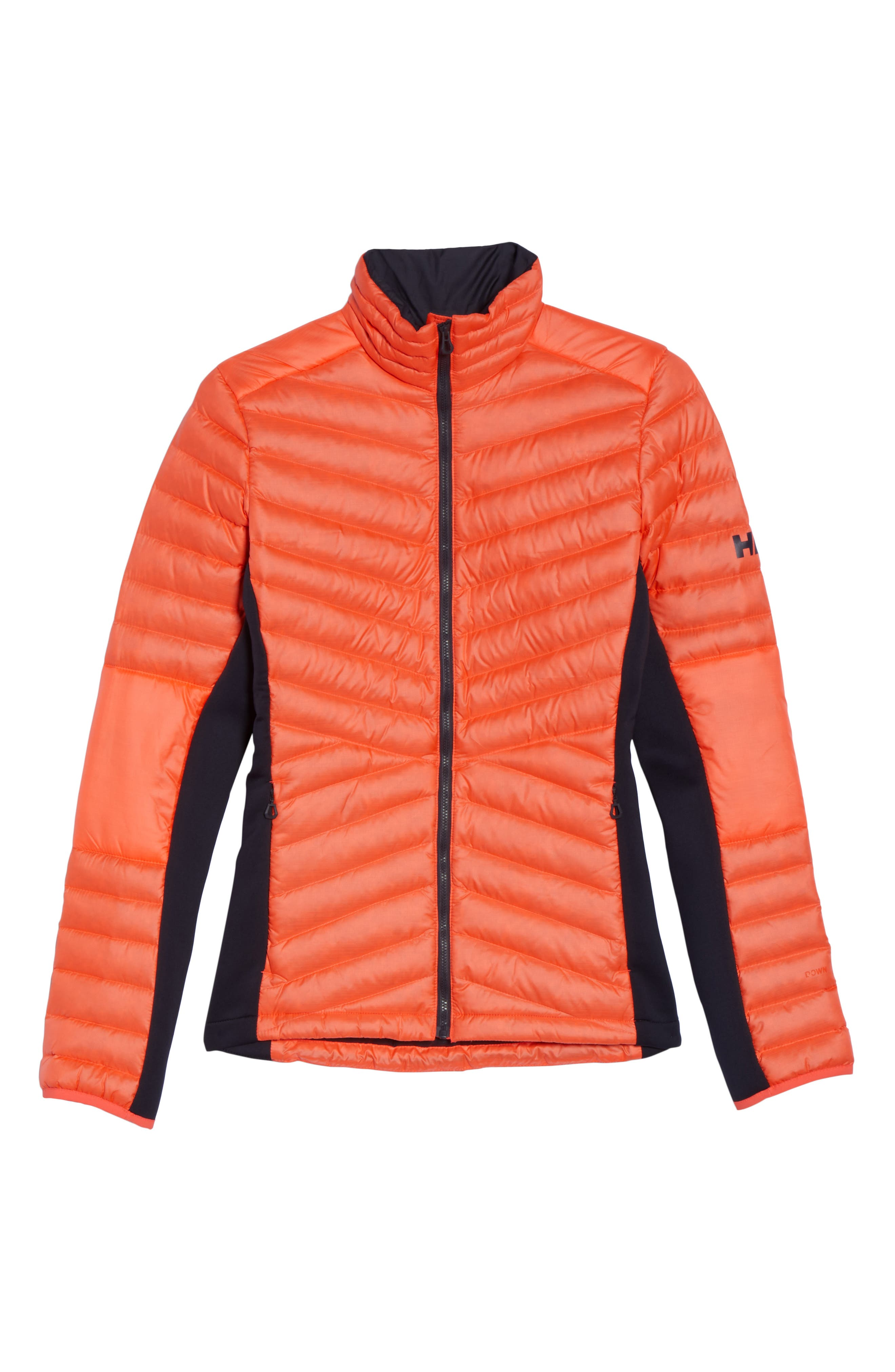 Verglas Hybrid Down Insulator Jacket,                             Alternate thumbnail 7, color,                             Neon Coral