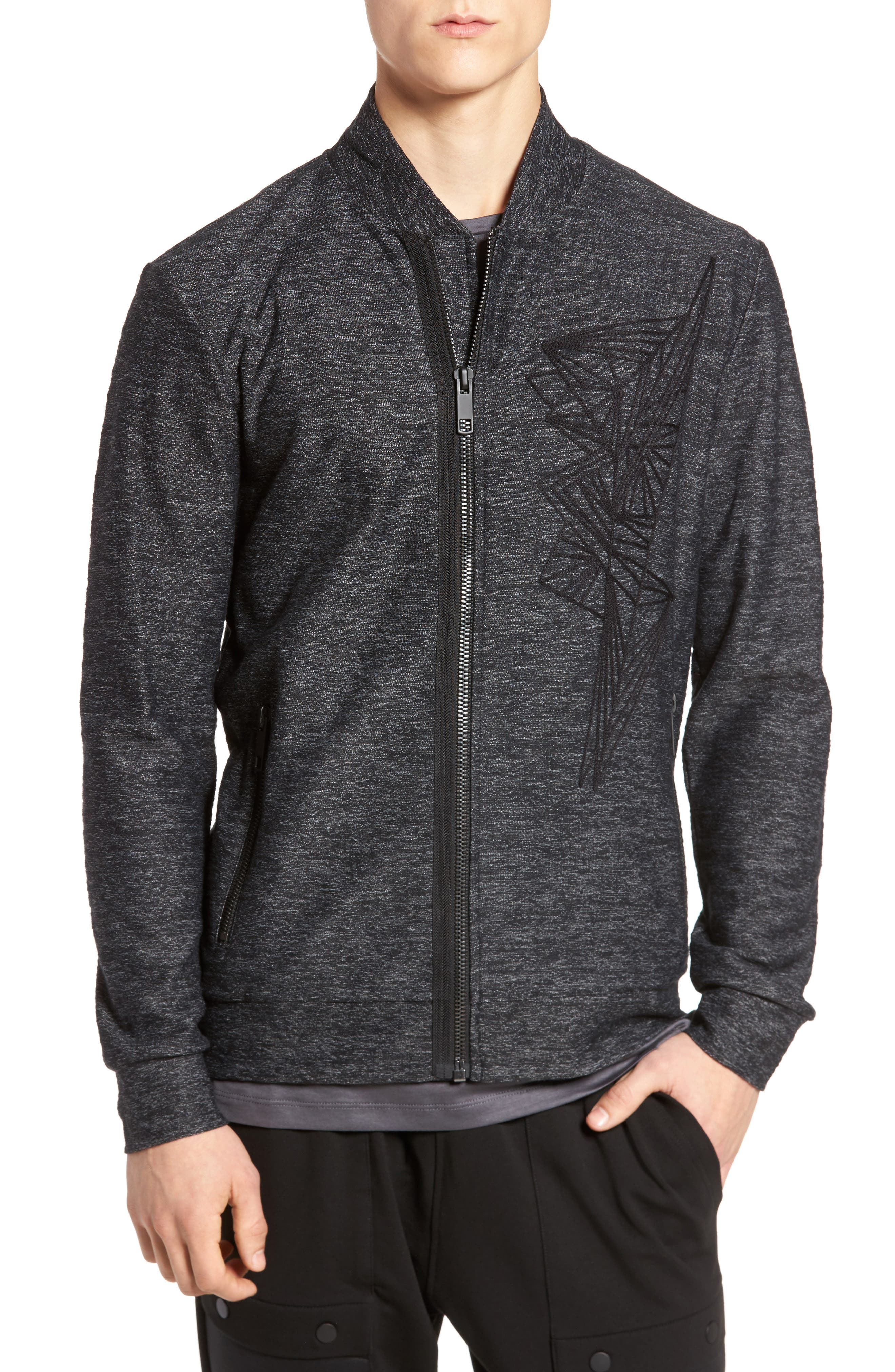 Alternate Image 1 Selected - Antony Morato Fleece Jacket