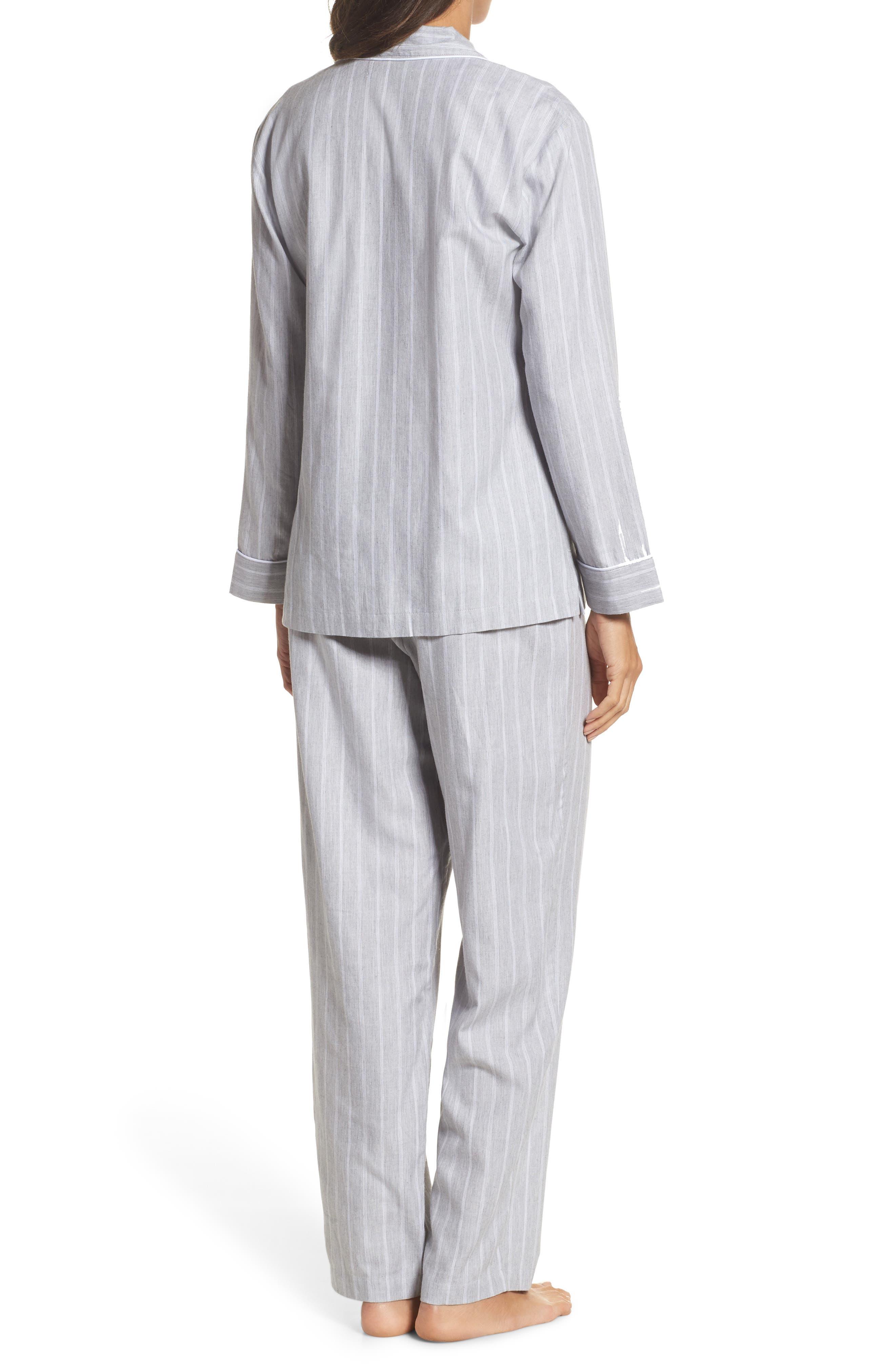 Alternate Image 2  - Lauren Ralph Lauren Cotton Pajamas
