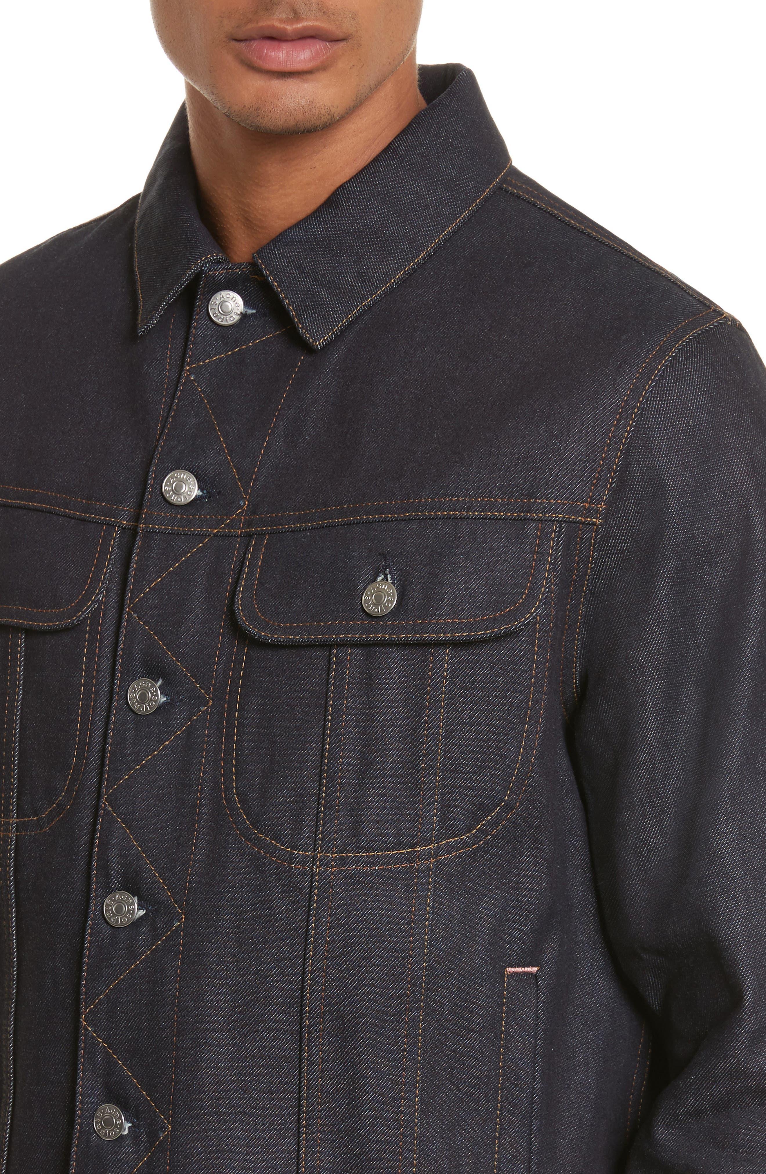 Alternate Image 4  - Acne Studios Denim Jacket