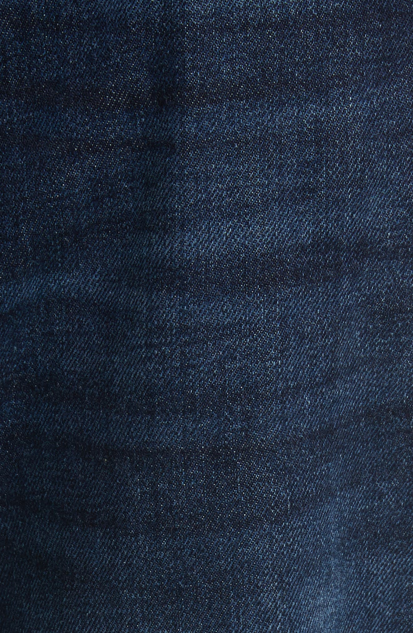 Land Classic Straight Leg Jeans,                             Alternate thumbnail 5, color,                             123 Dk Blue