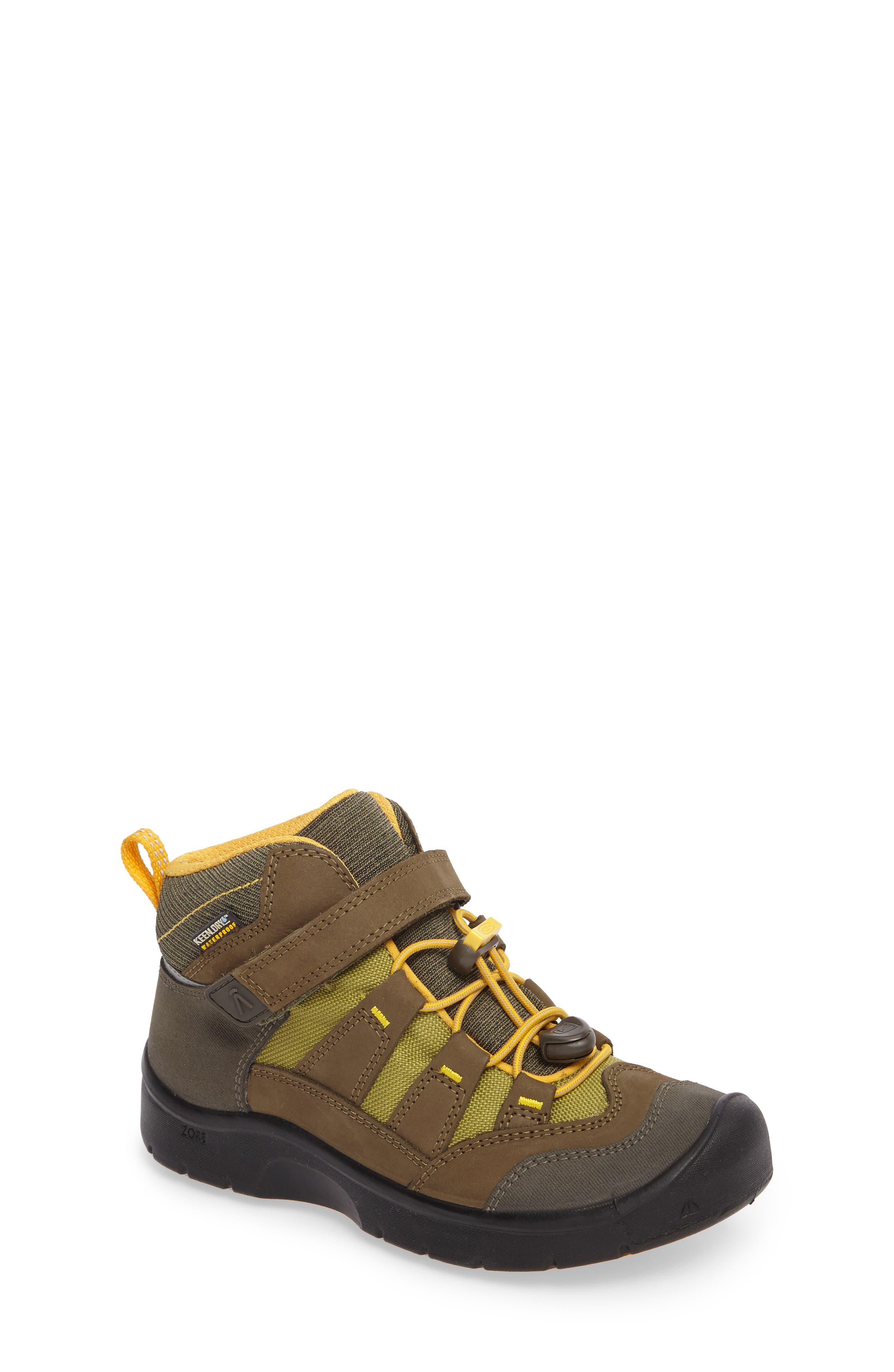 Keen Hikeport Strap Waterproof Mid Boot (Toddler, Little Kid & Big Kid)