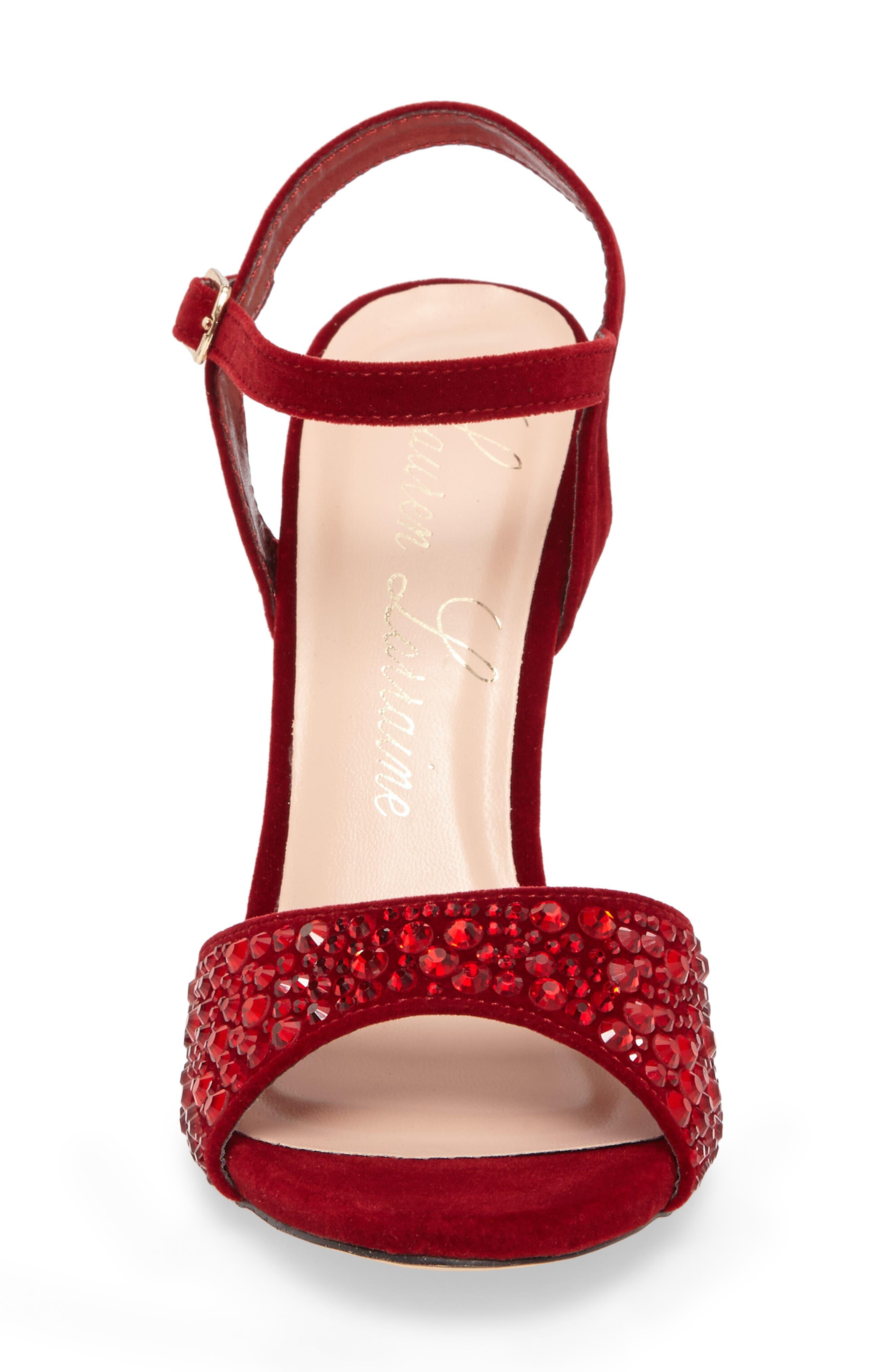 Alternate Image 4  - Lauren Lorraine Marti Embellished Sandal (Women)