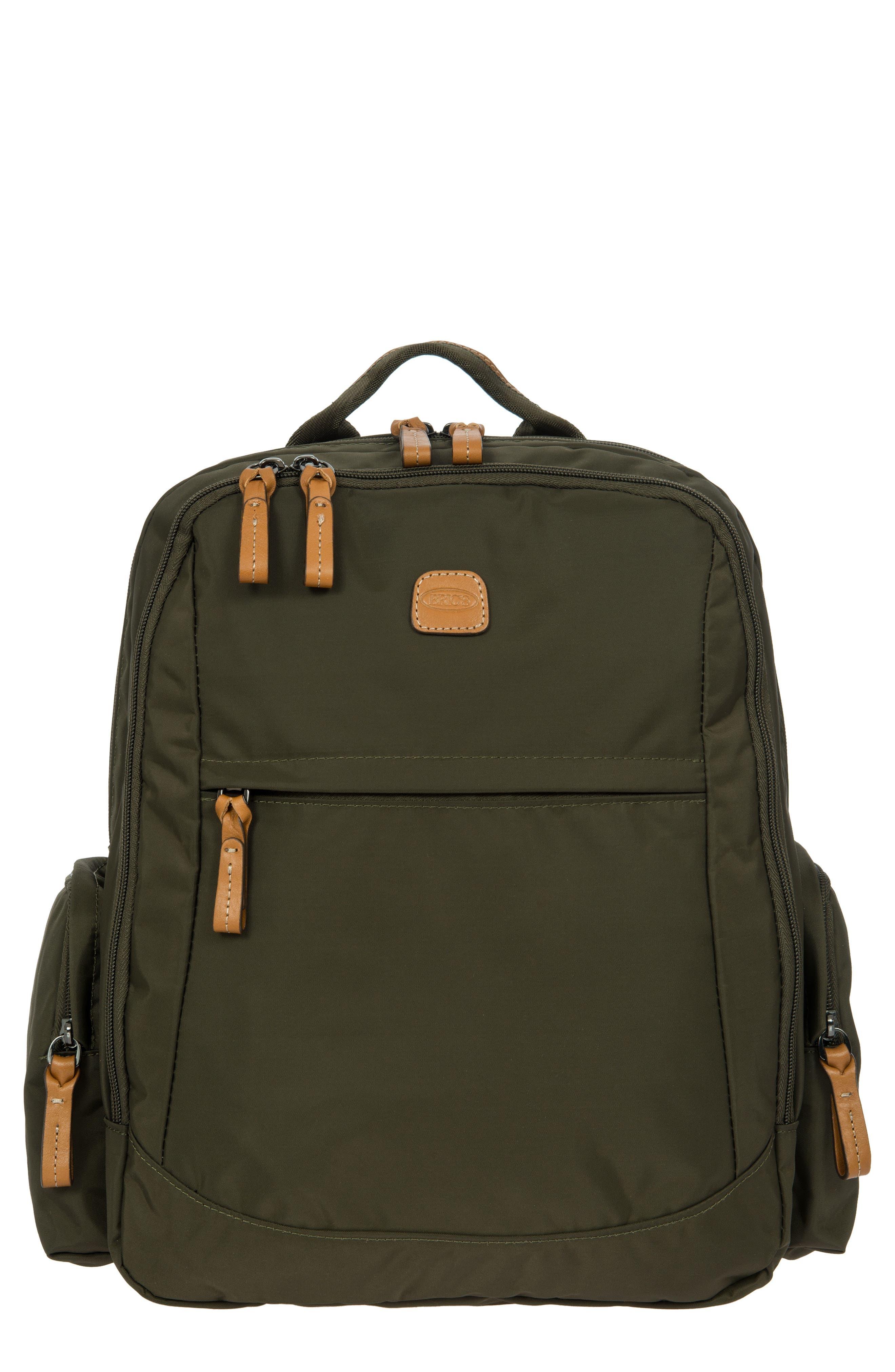 X-Travel Nomad Backpack,                         Main,                         color, Olive