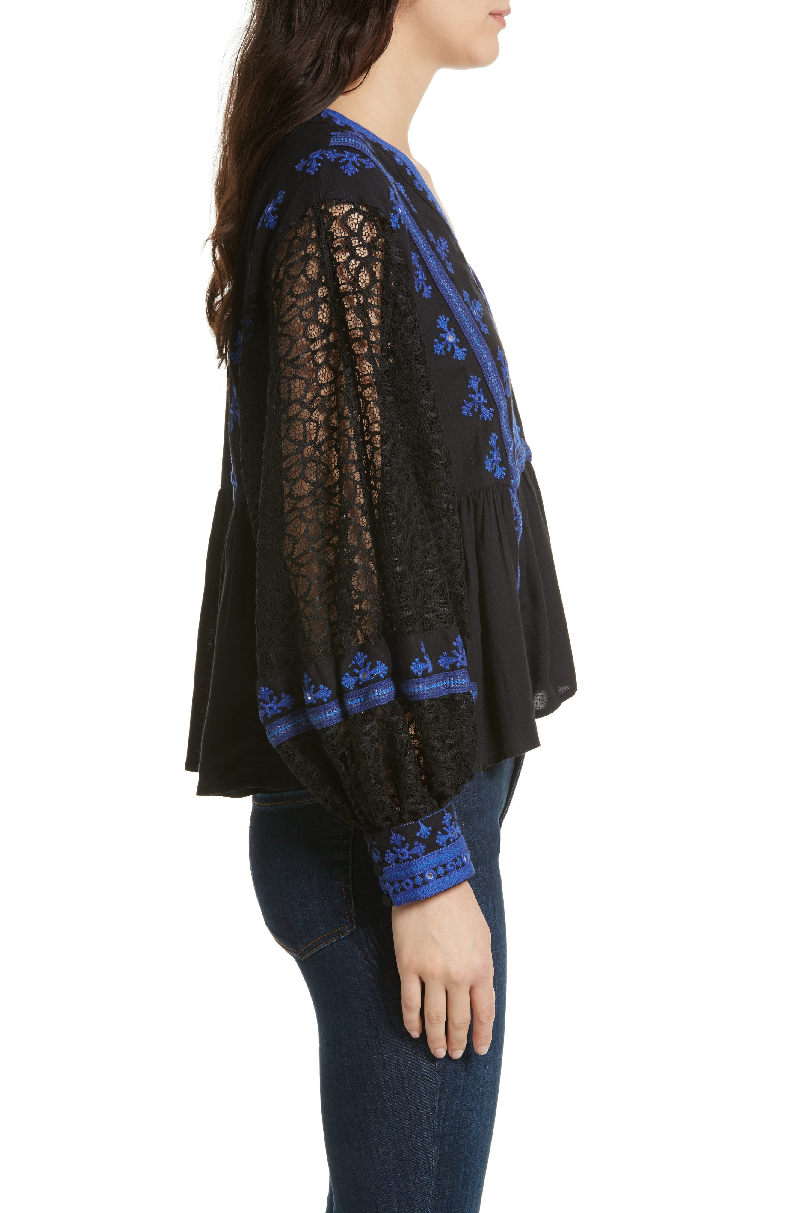 Alternate Image 3  - Free People Boogie All Night Blouse