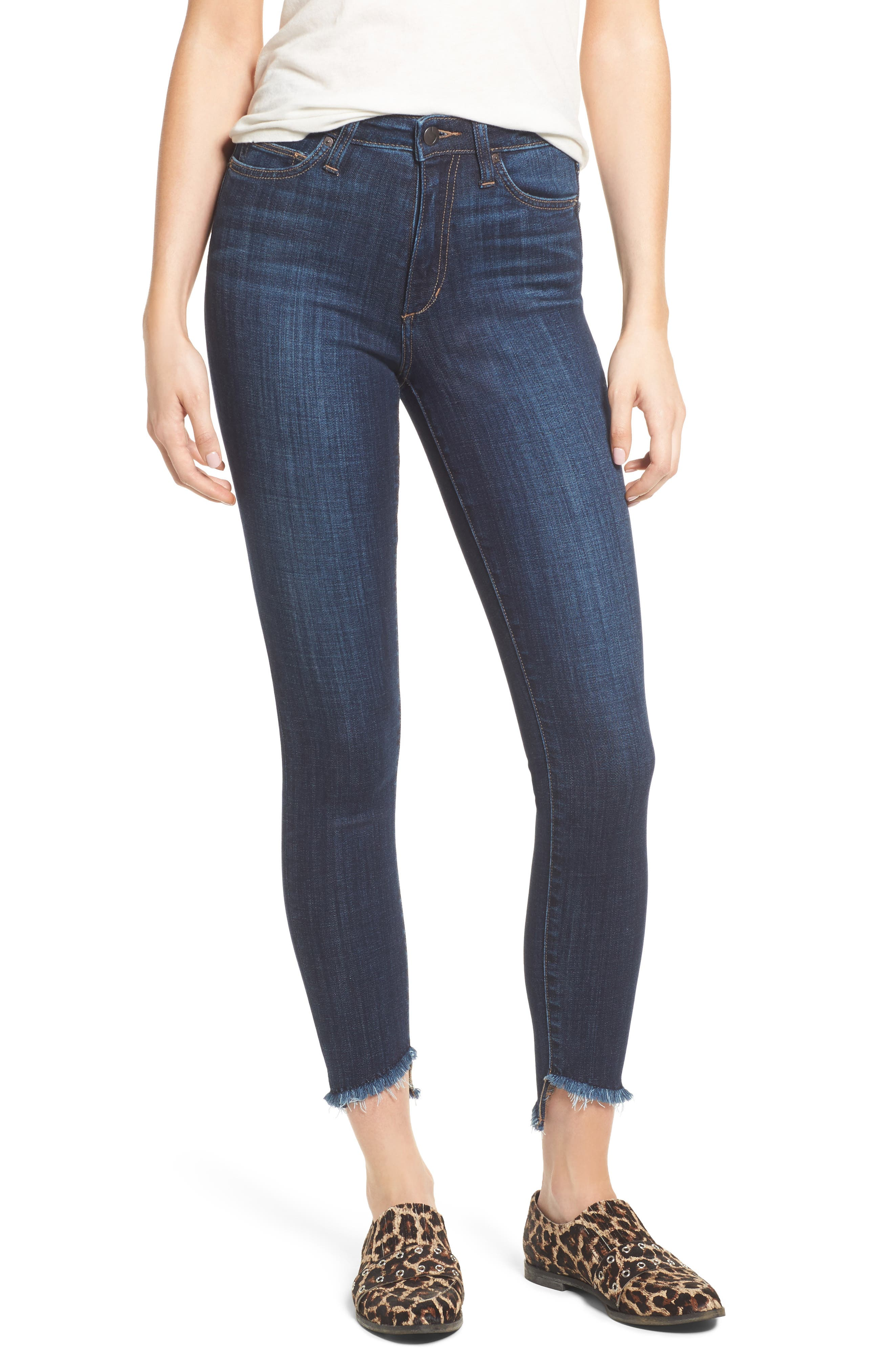 Charlies Blondie Hem Jeans,                         Main,                         color, Marquita