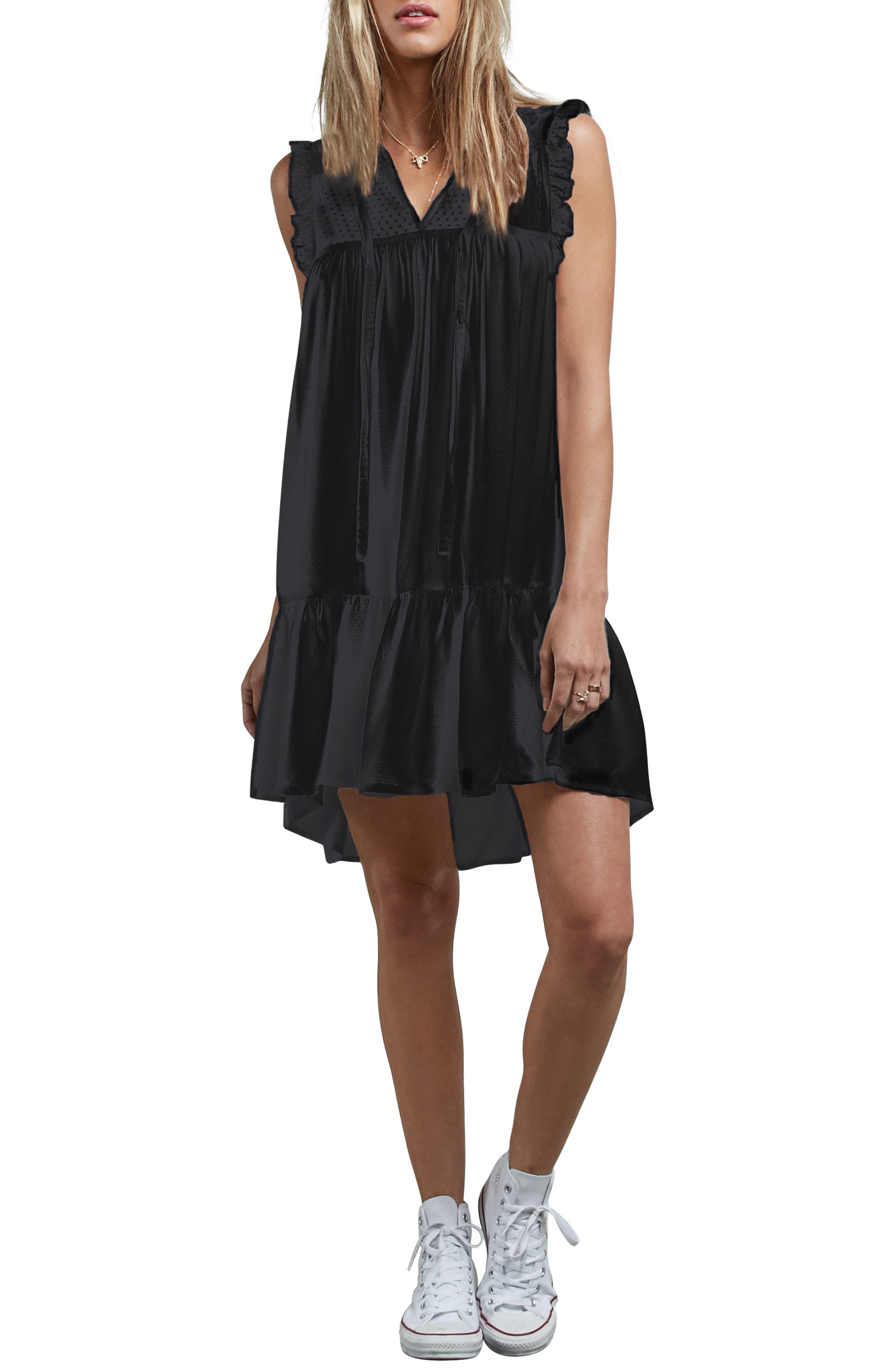 Sea Y'Around Dress,                         Main,                         color, Black