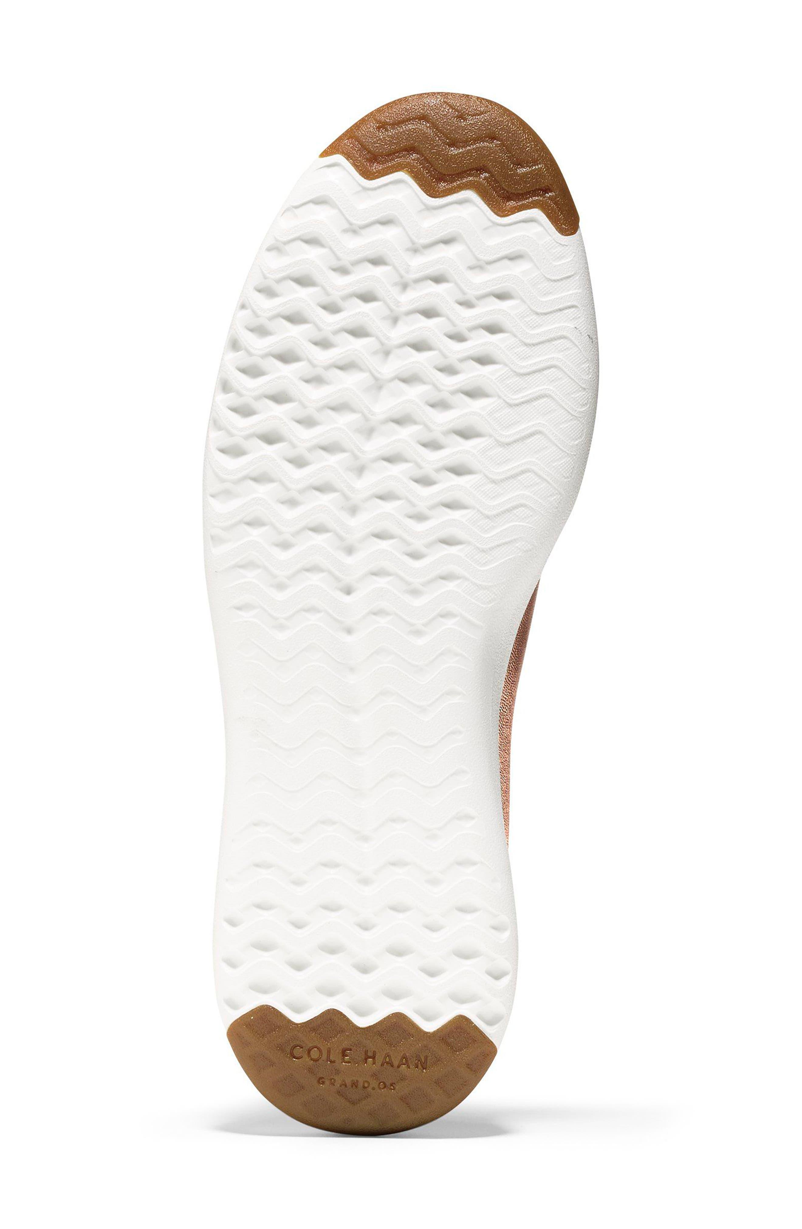 GrandPro Tennis Shoe,                             Alternate thumbnail 5, color,                             Rose Gold Leather