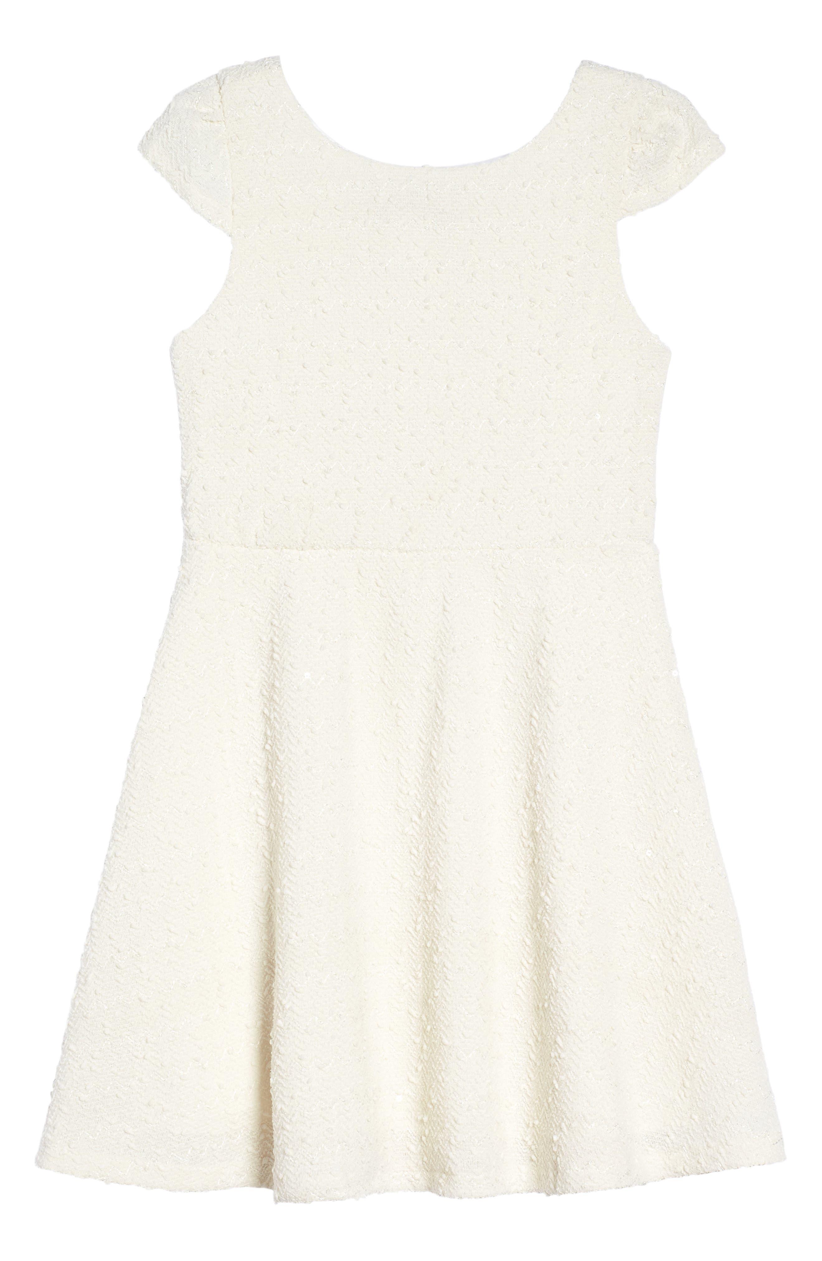 Alternate Image 1 Selected - Dorissa Carly Cap Sleeve Dress (Big Girls)