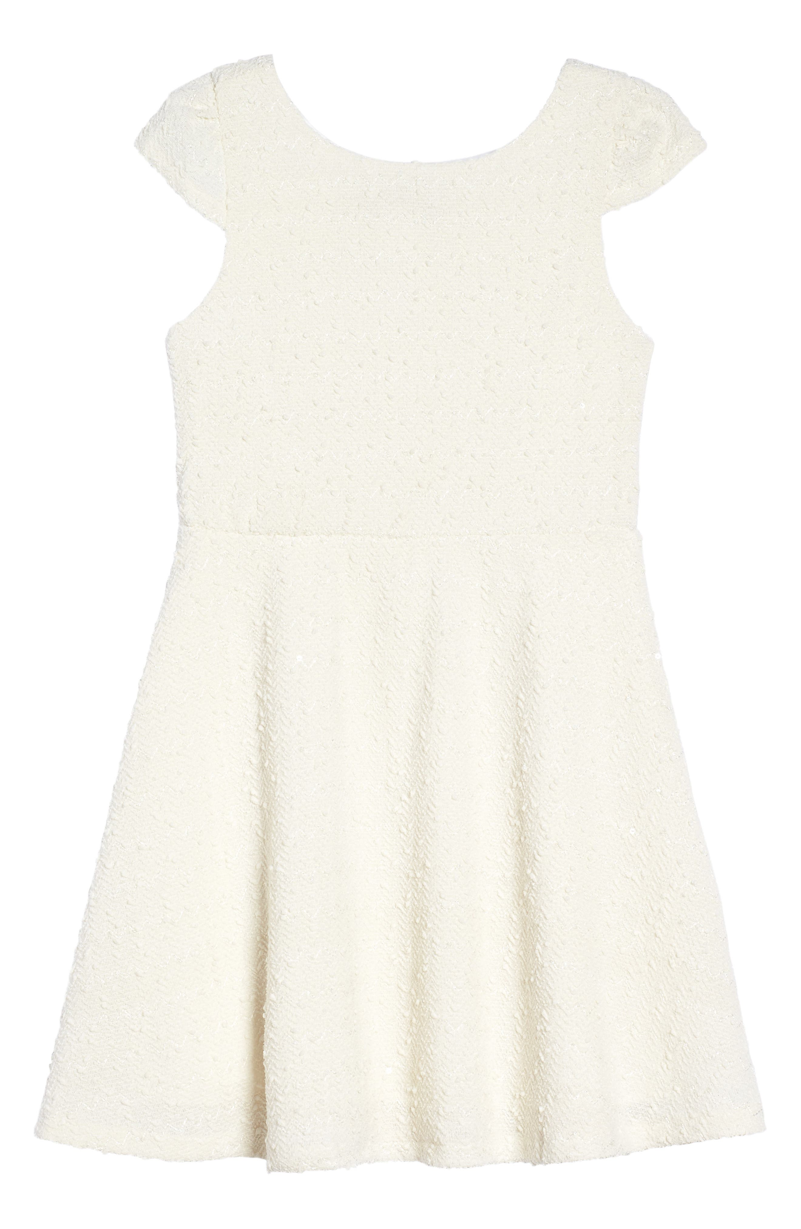 Dorissa Carly Cap Sleeve Dress (Big Girls)