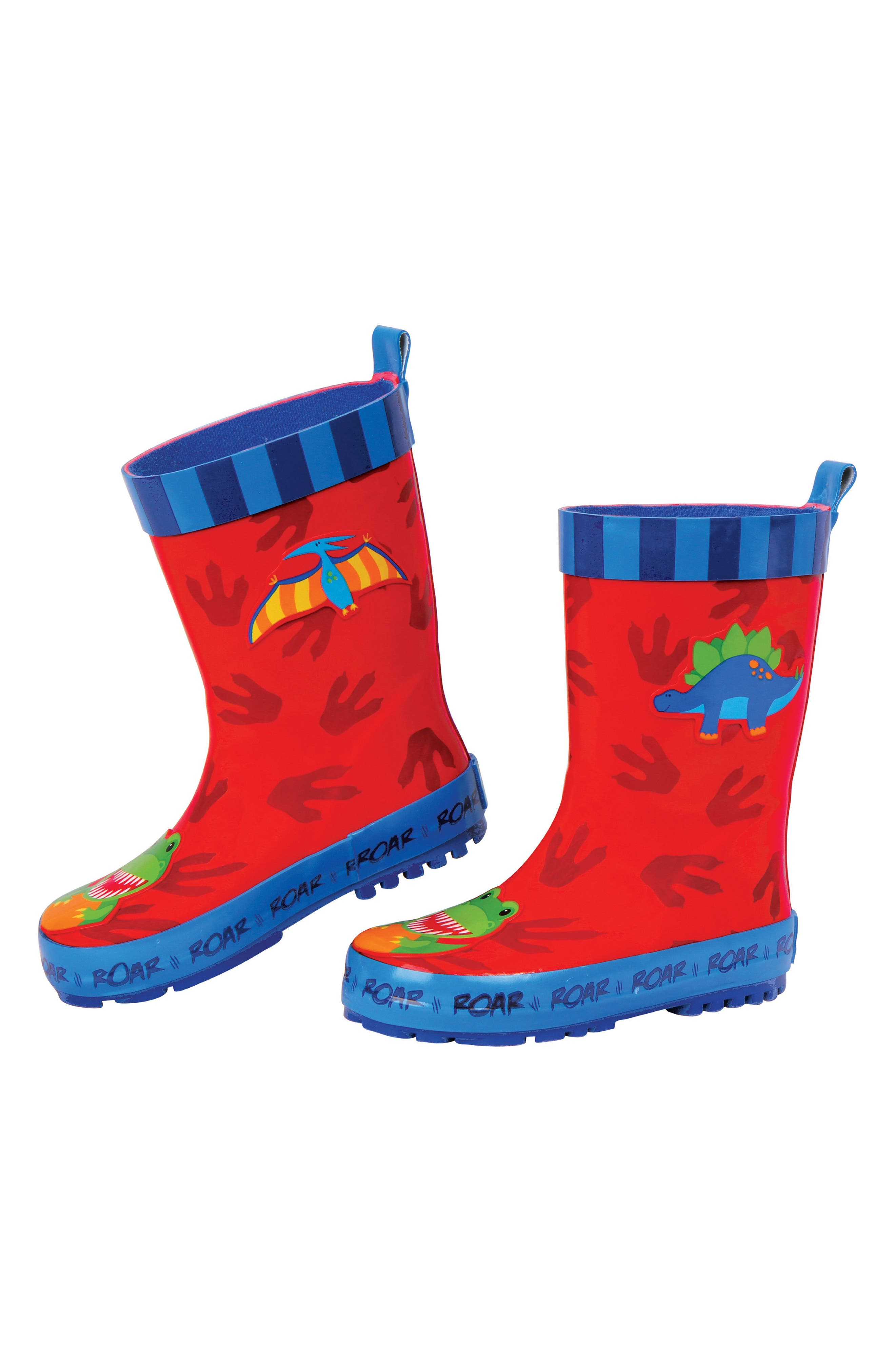 Dinosaur Truck Rain Boots & Umbrella Set,                             Alternate thumbnail 2, color,                             Dino