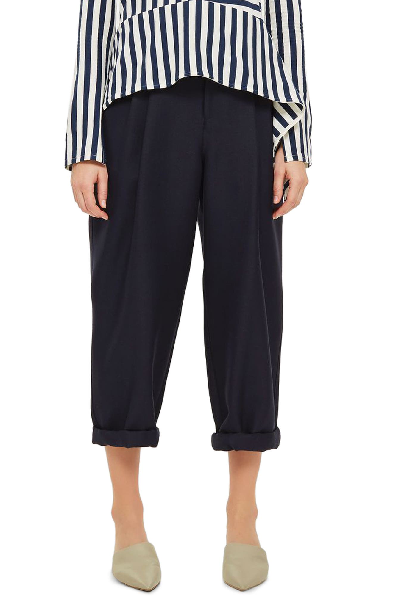 Alternate Image 1 Selected - Topshop Boutique Nords Mensy Trousers
