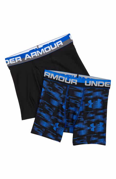 0248dc30bfaf Under Armour Original Blur 2-Pack Boxer Briefs (Big Boys)