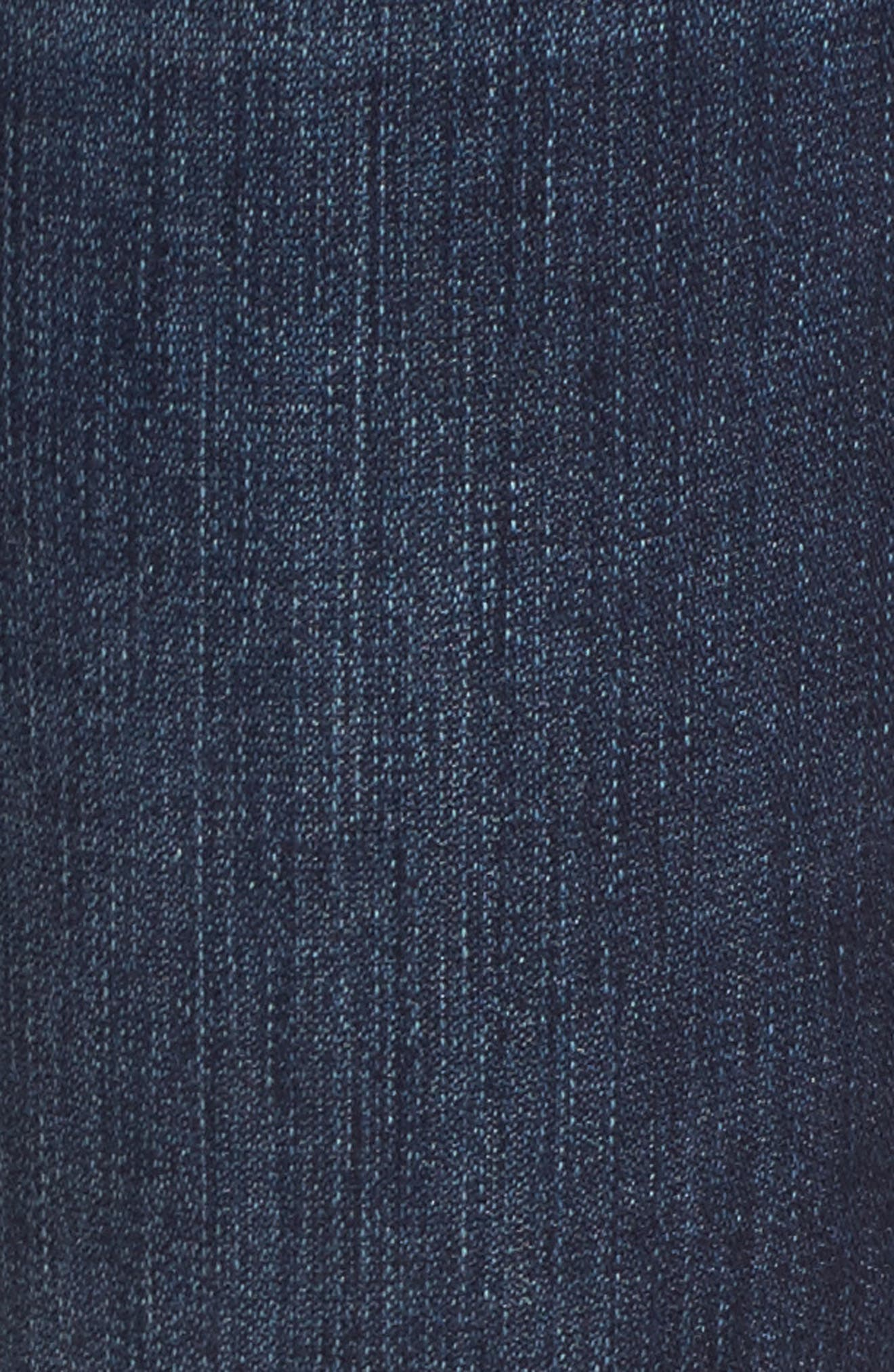 Alternate Image 5  - Jag Jeans Amelia Embroidered Slim Ankle Jeans (Meteor)
