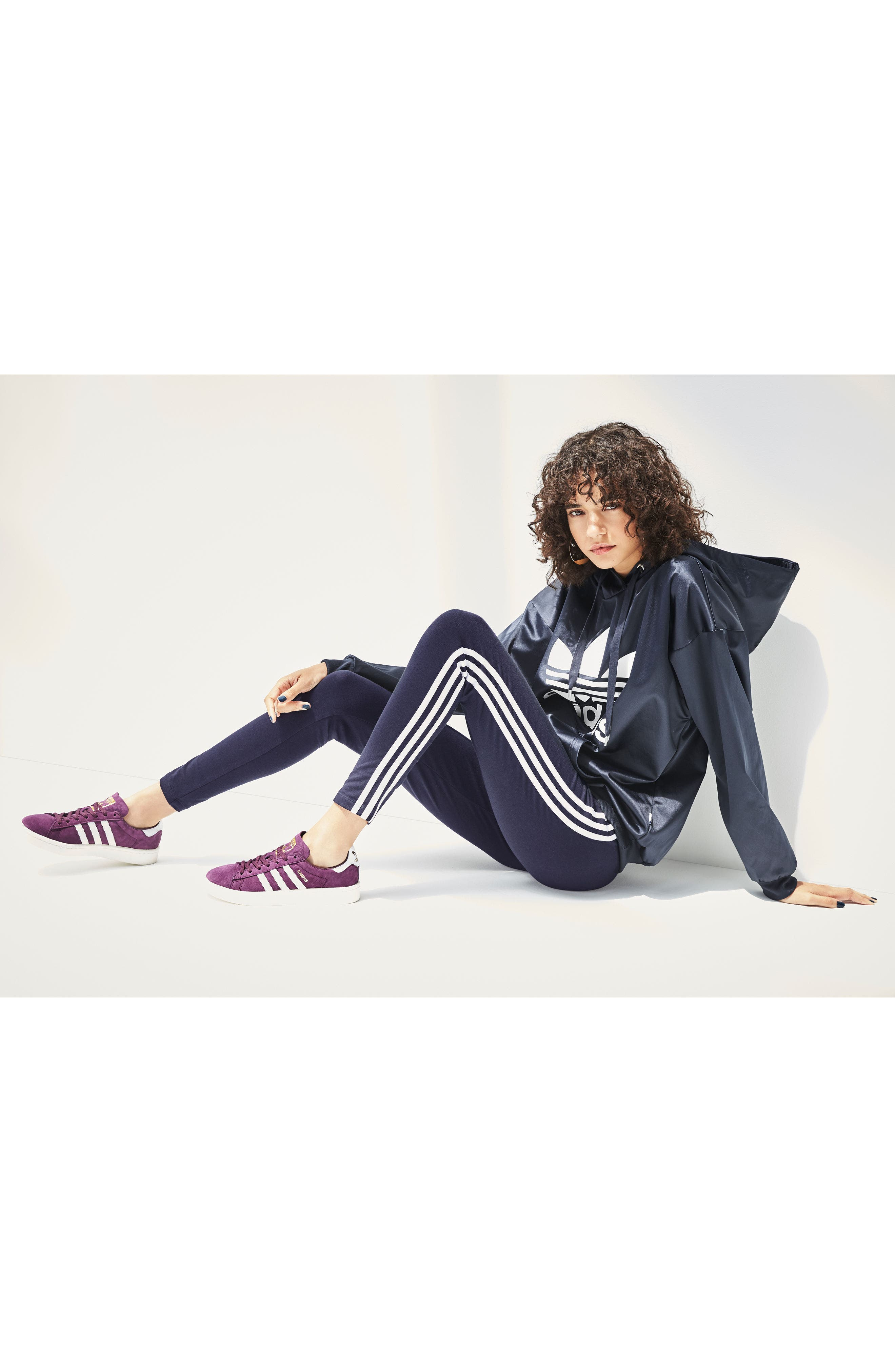 Alternate Image 7  - adidas Originals Trefoil Hoodie