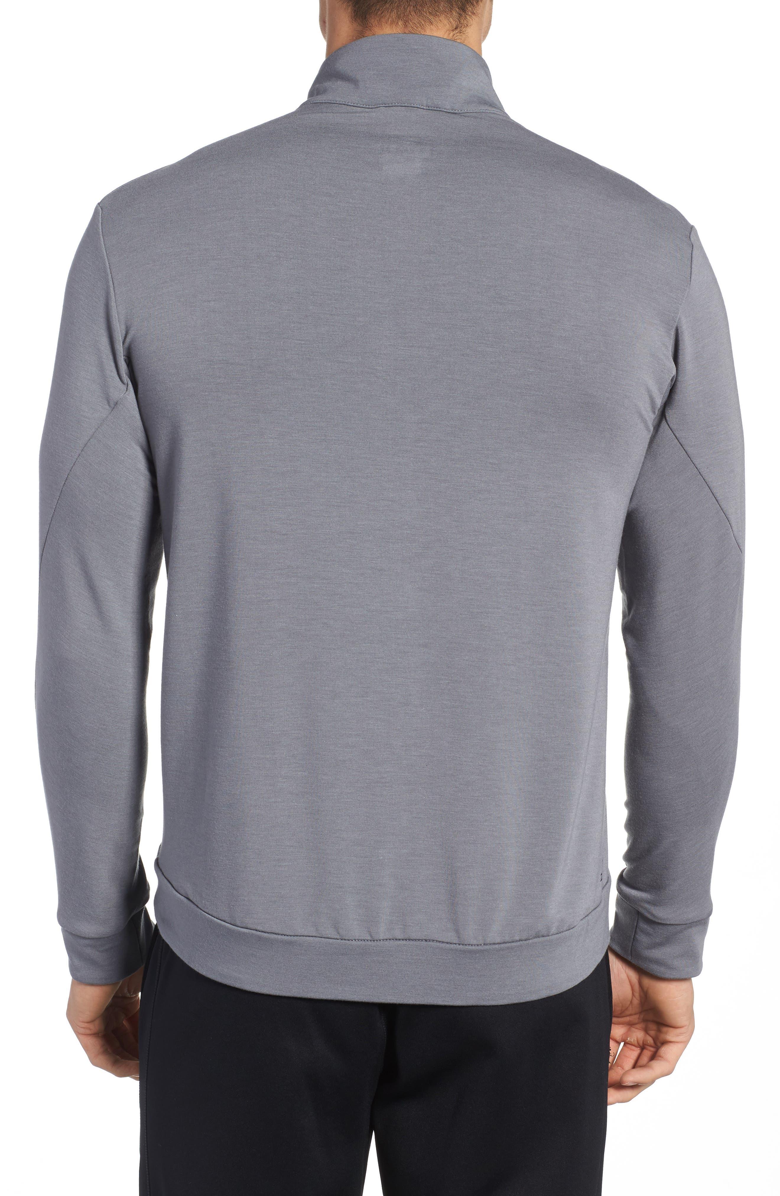 Alternate Image 2  - Nike Dry Training Quarter Zip Pullover