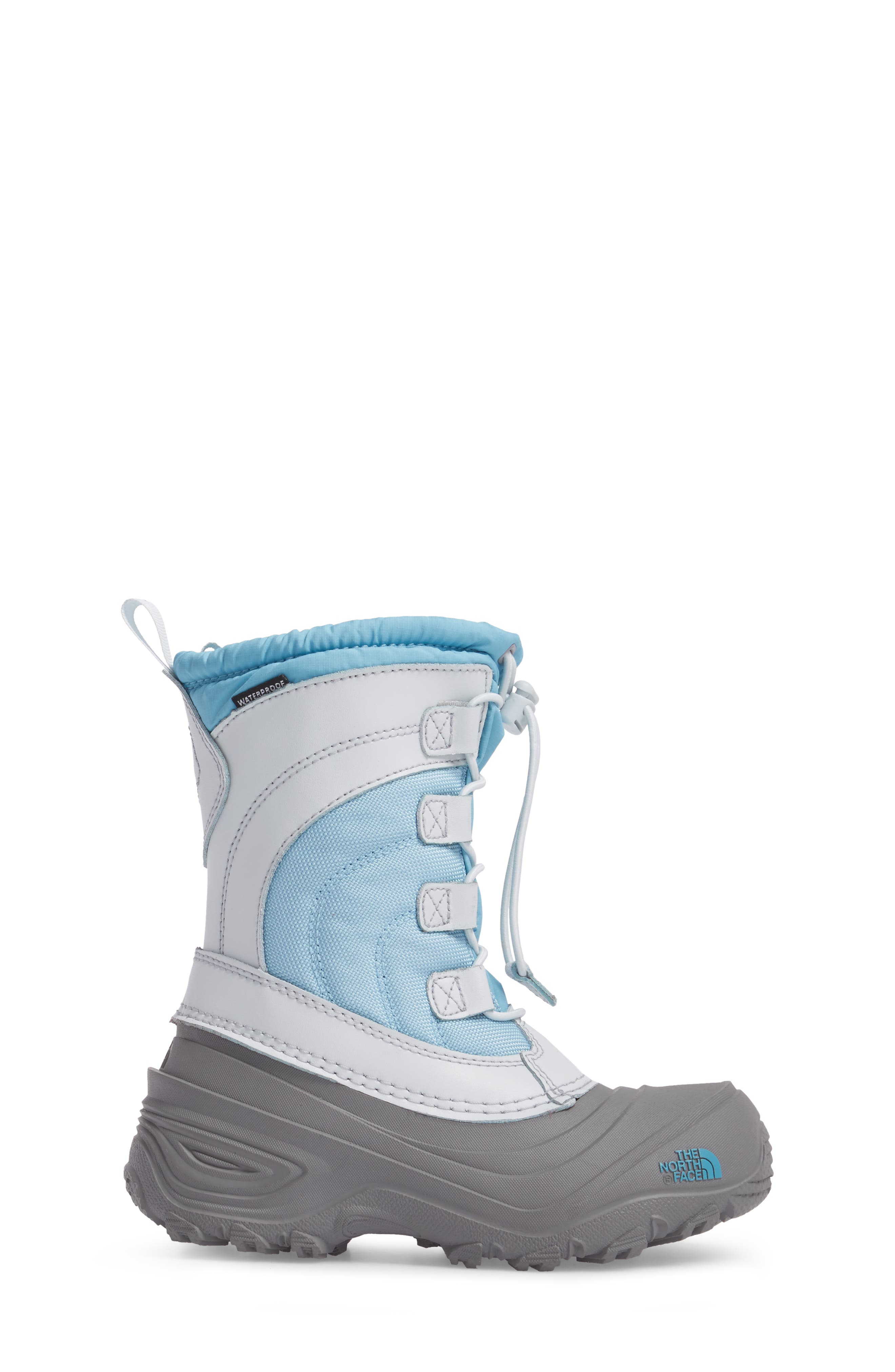 Alpenglow IV Waterproof Insulated Winter Boot,                             Alternate thumbnail 3, color,                             Blizzard Blue/ Ice Blue