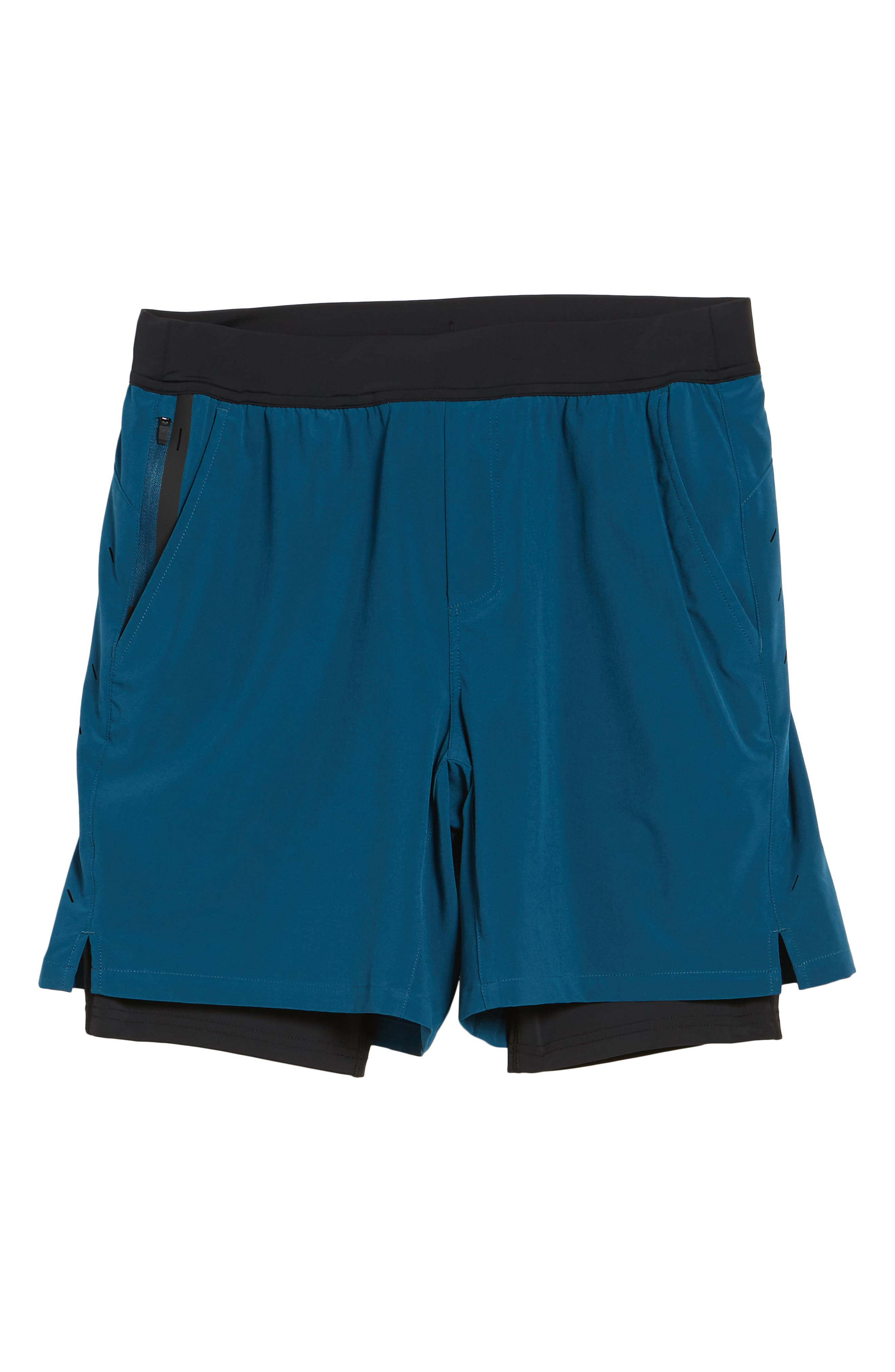 Interval Athletic Shorts,                             Alternate thumbnail 6, color,                             Dark Teal